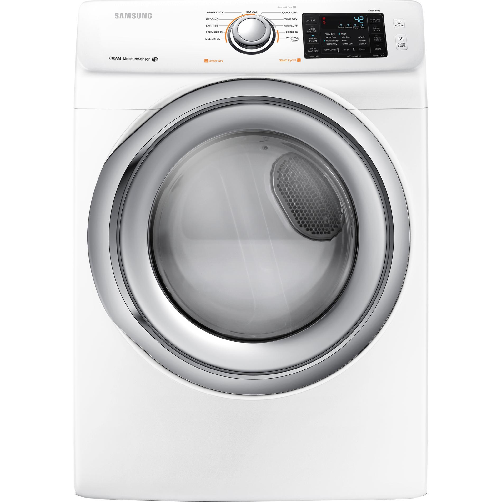 Samsung DV42H5200EW 7.5 cu. ft. Electric Dryer - White