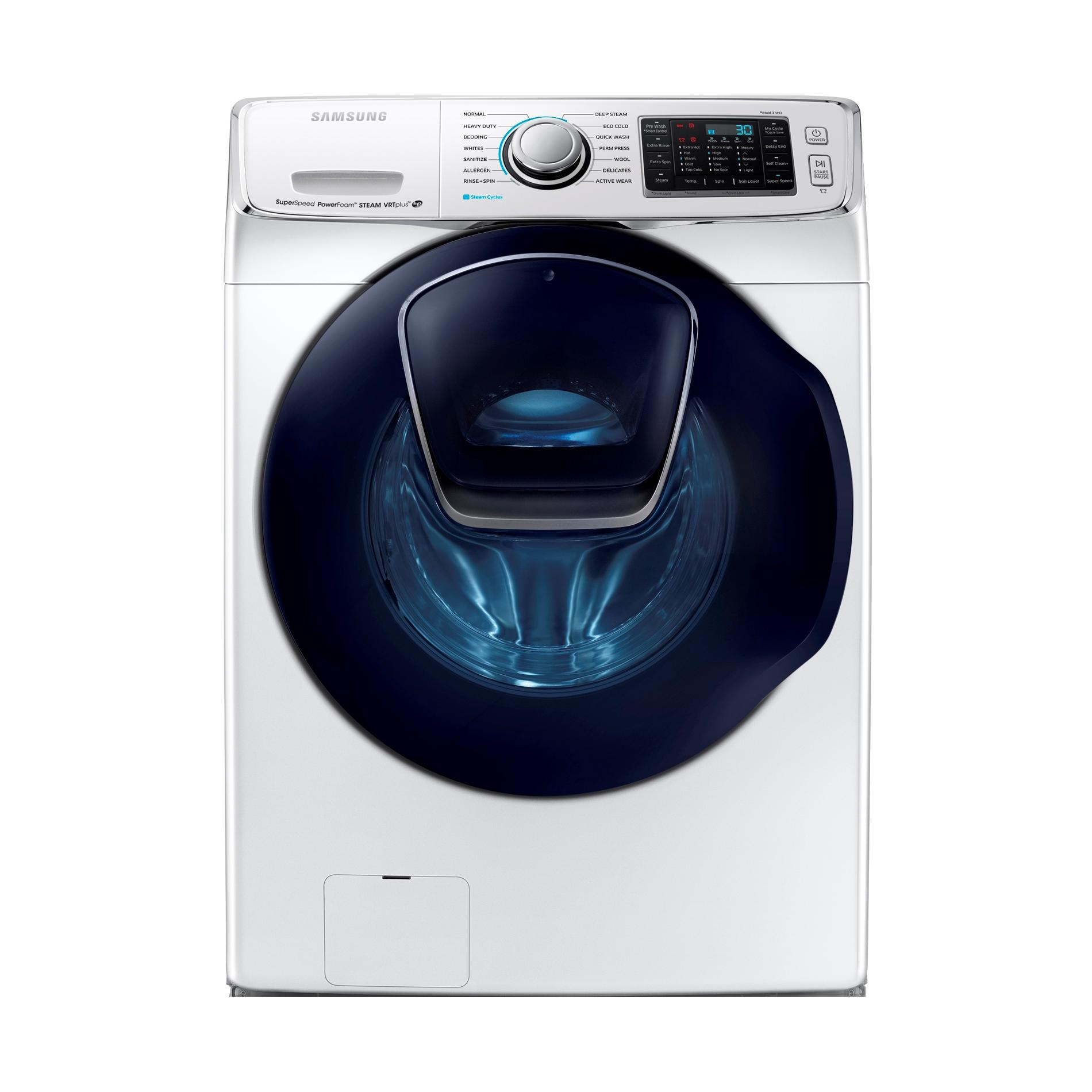 Samsung WF50K7500AW 5.0 cu. ft. AddWash™ Front Load Washer White