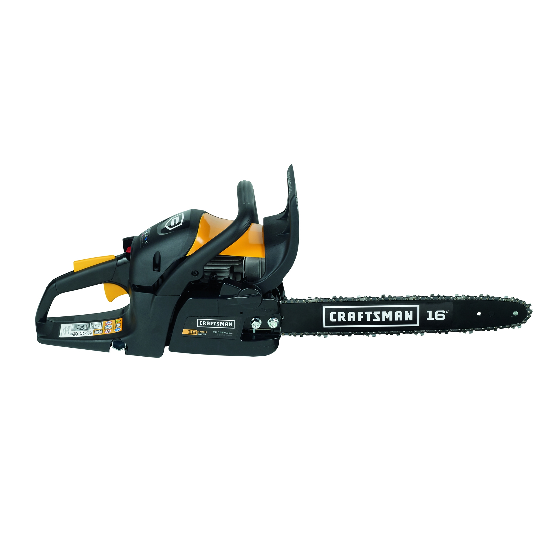 "Craftsman Pro Series 38cc 2-Cycle 16"" Gas Chainsaw"
