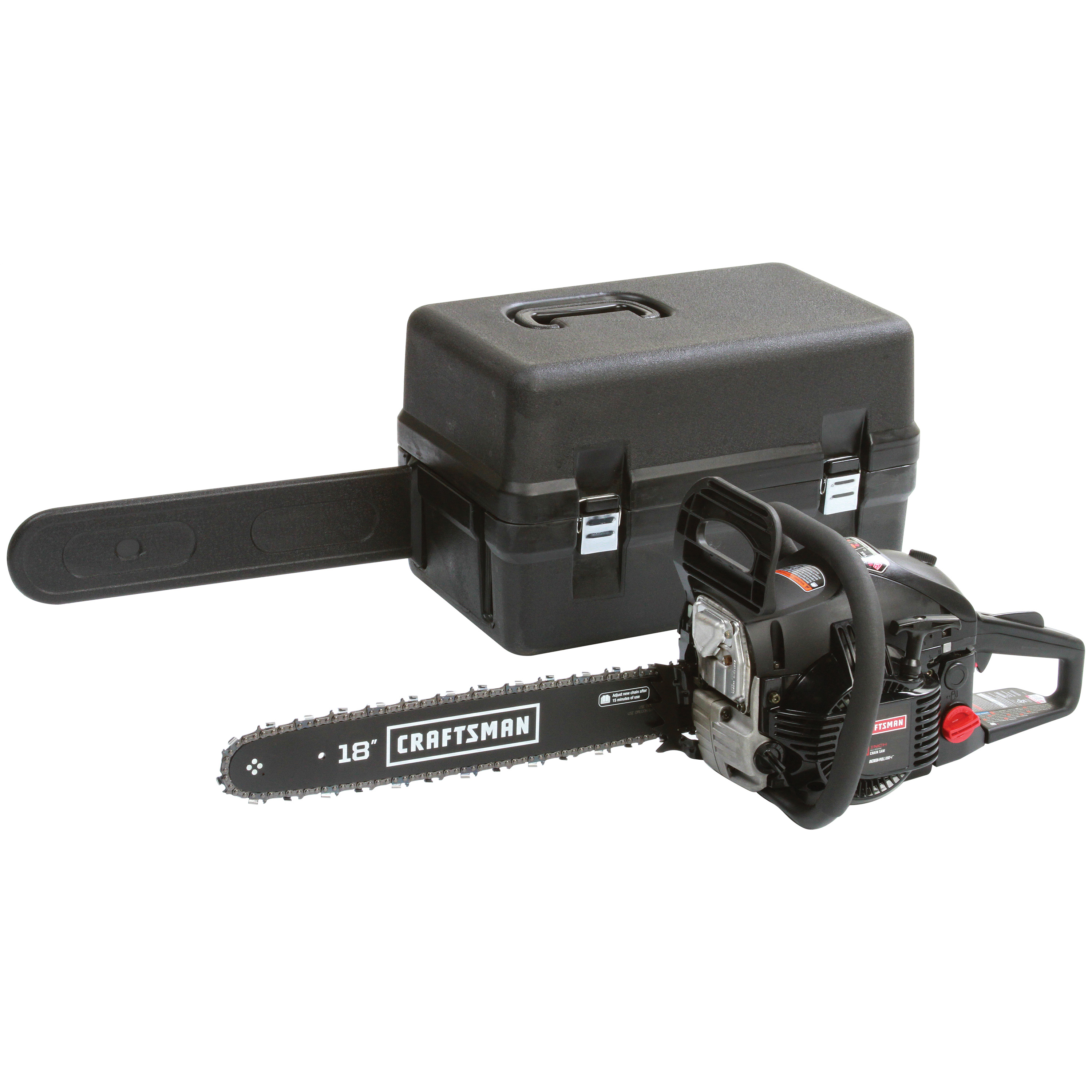 """Craftsman 46cc2-Cycle18"""" Gas-Powered Chainsaw"""