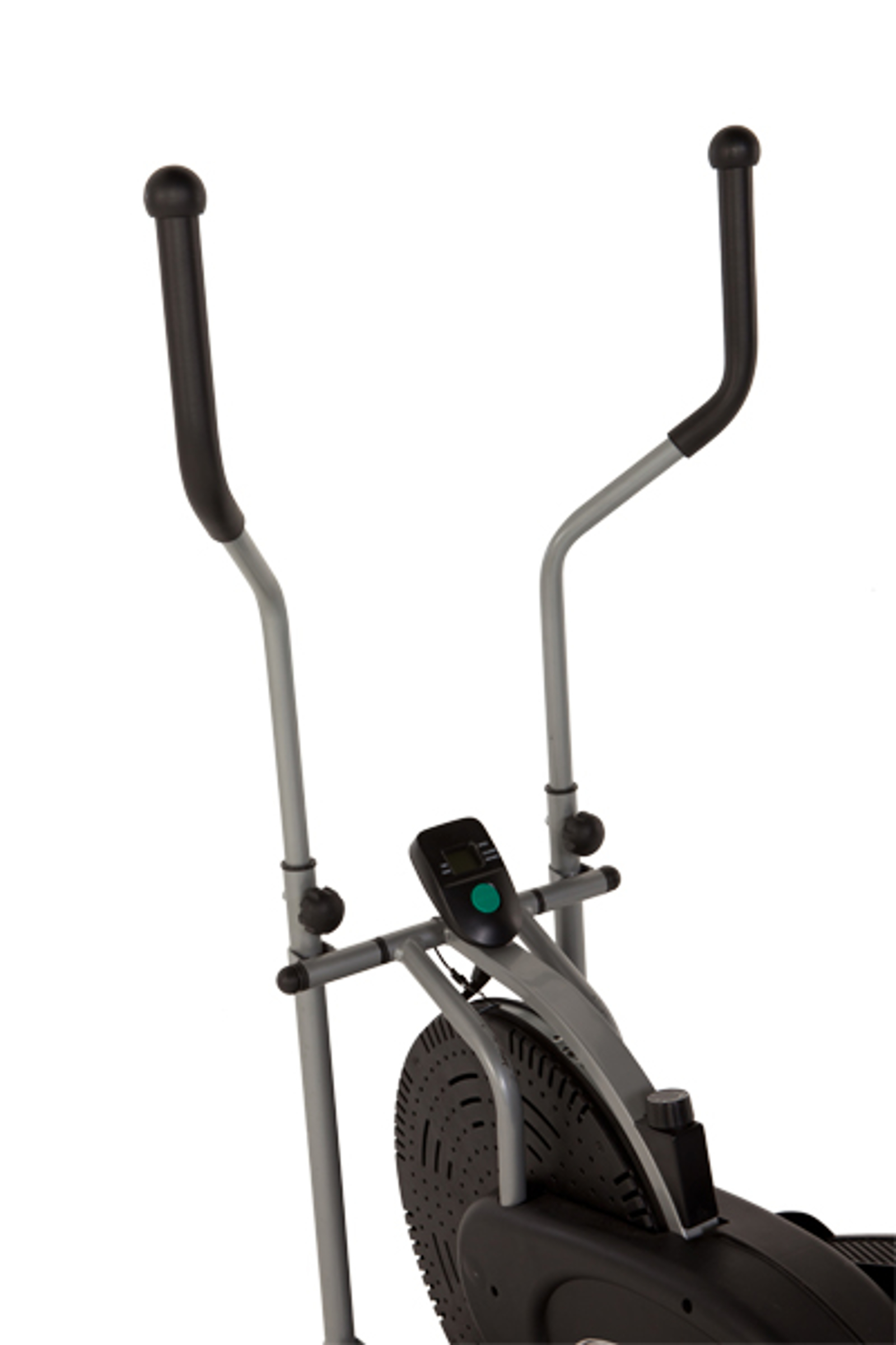 Exerpeutic SpaceSaver Aero Air Elliptical with LCD Display
