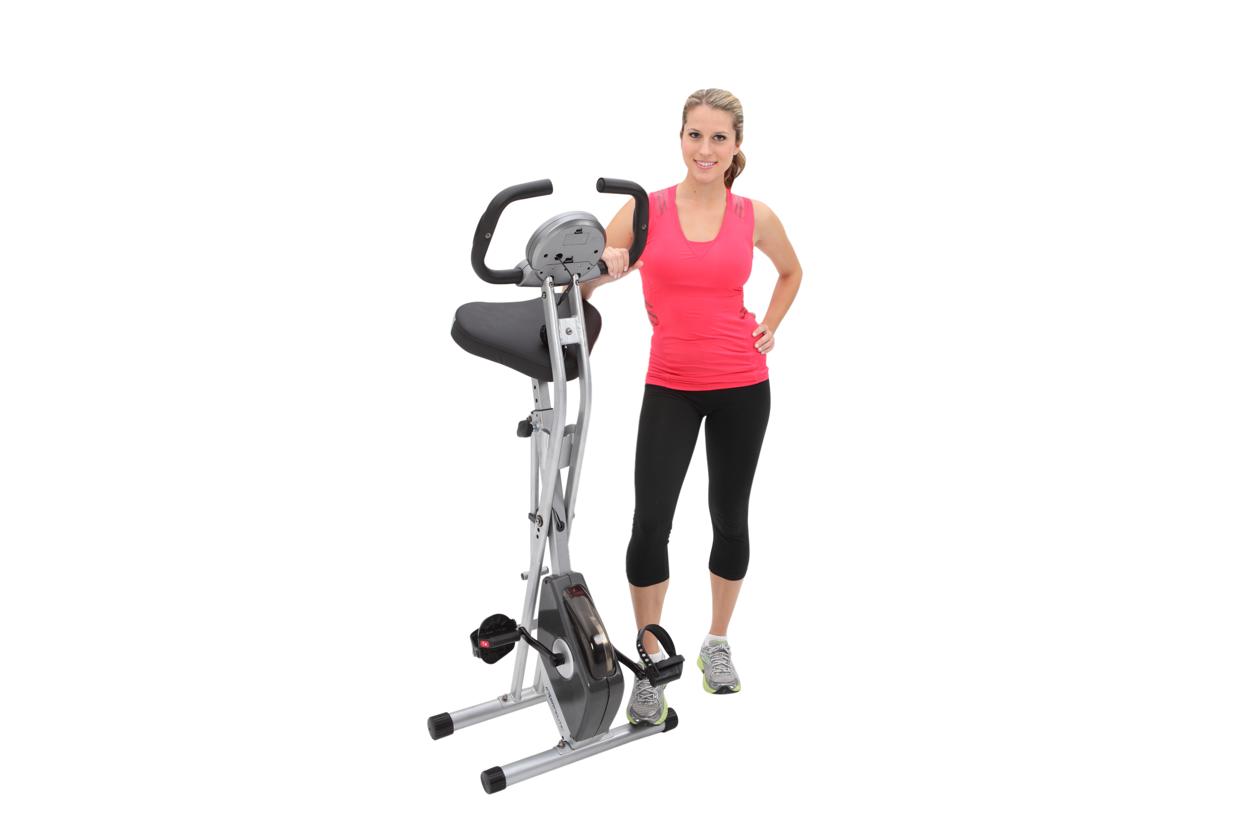 Exerpeutic 250XL Upright Bike with Pulse Grips