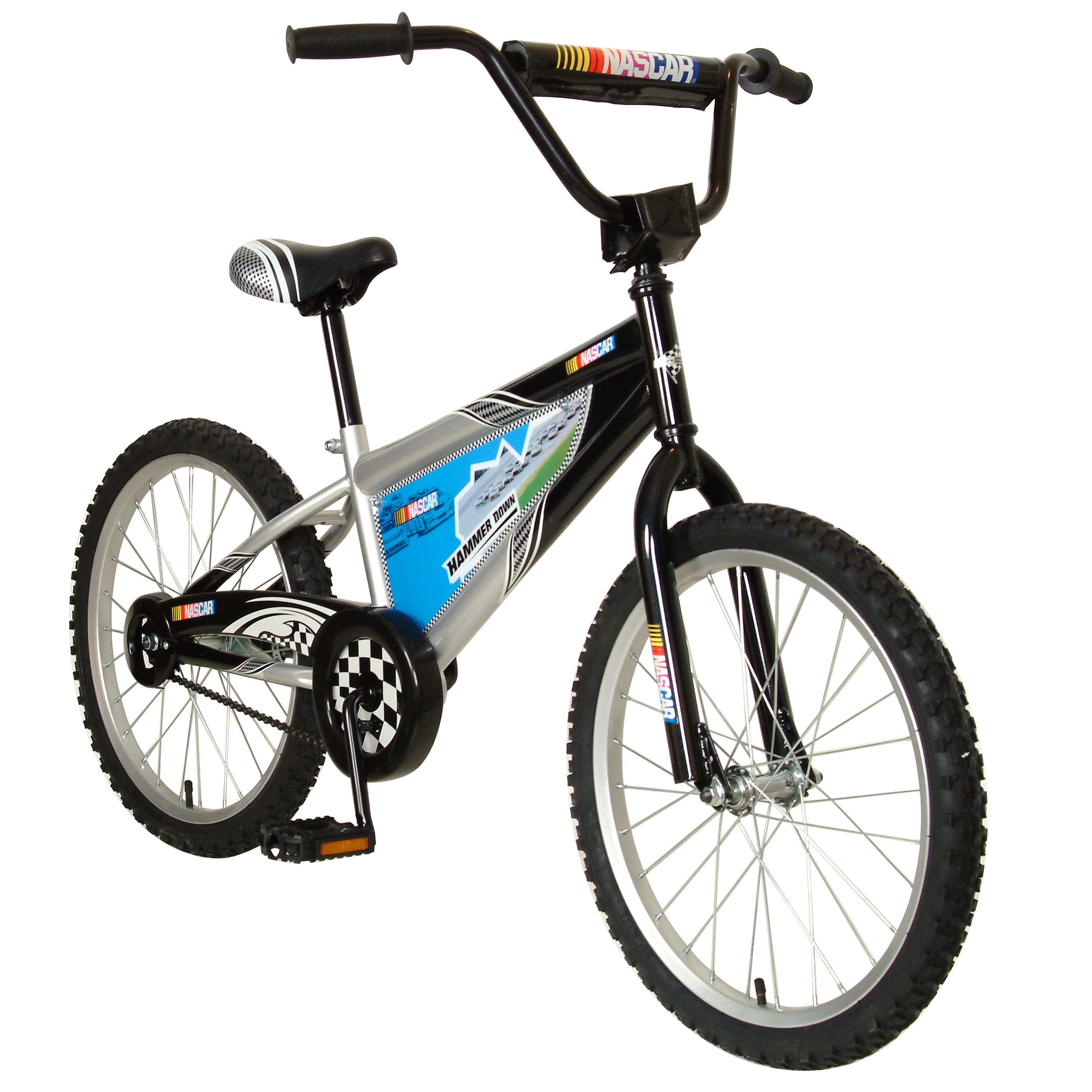 "NASCAR Hammer Down 20"" Youth BMX Bike"
