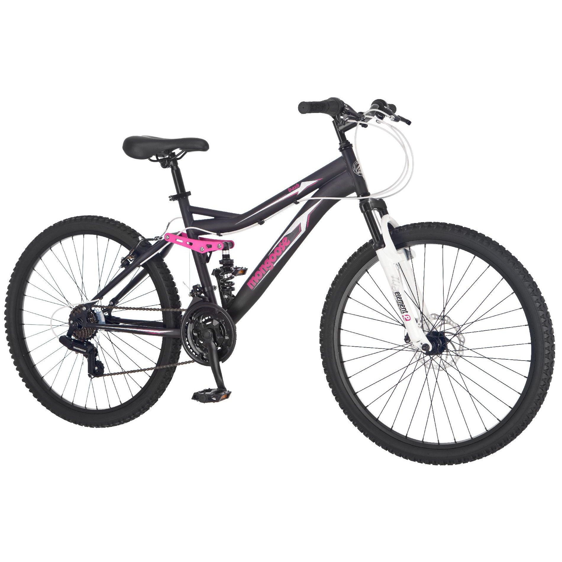 "Mongoose 26"" Women's Bash Mountain Bike"