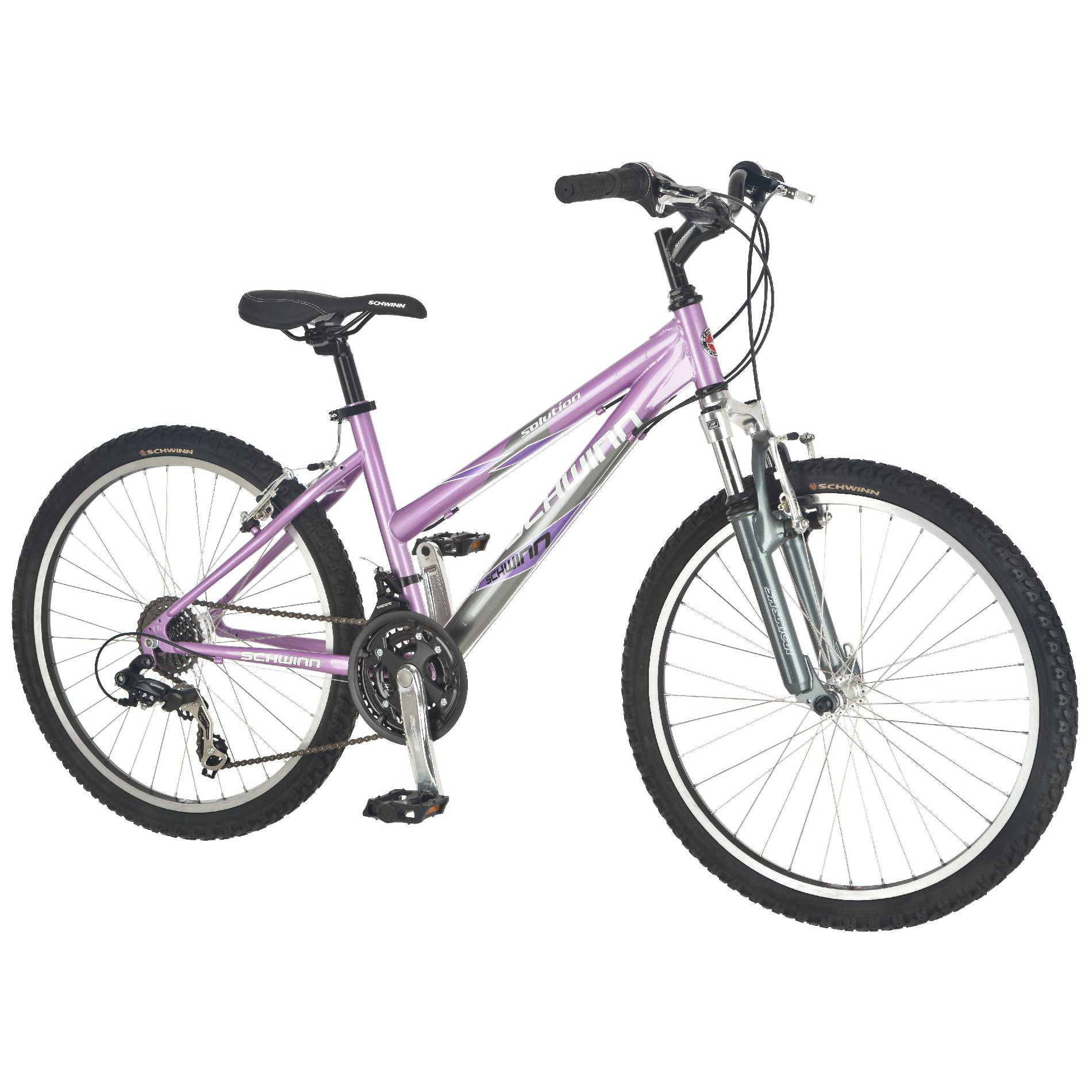 "Schwinn Solution 24"" Girls Mountain Bike"