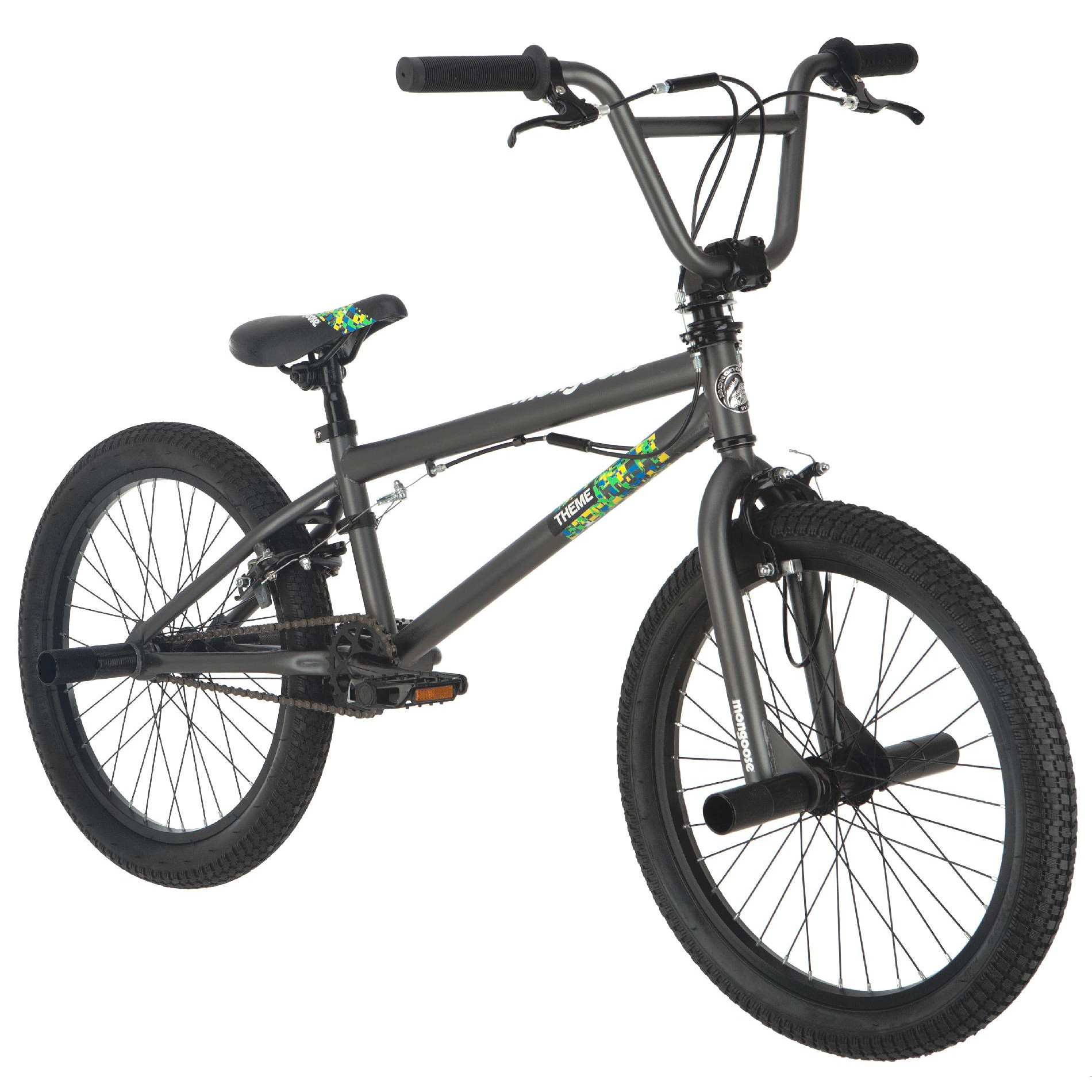 "Mongoose Theme Boys 20"" Freestyle Bike"