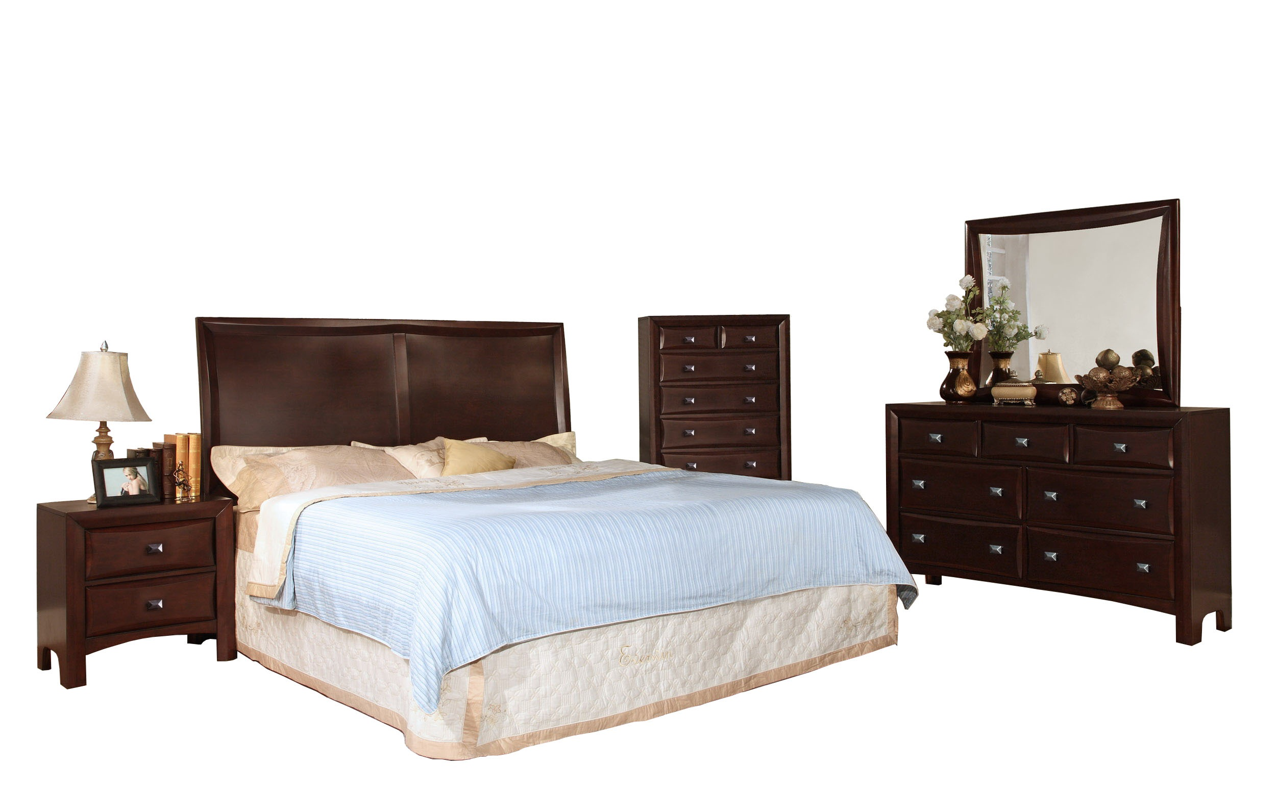 Ivy League Queen Bedroom Set