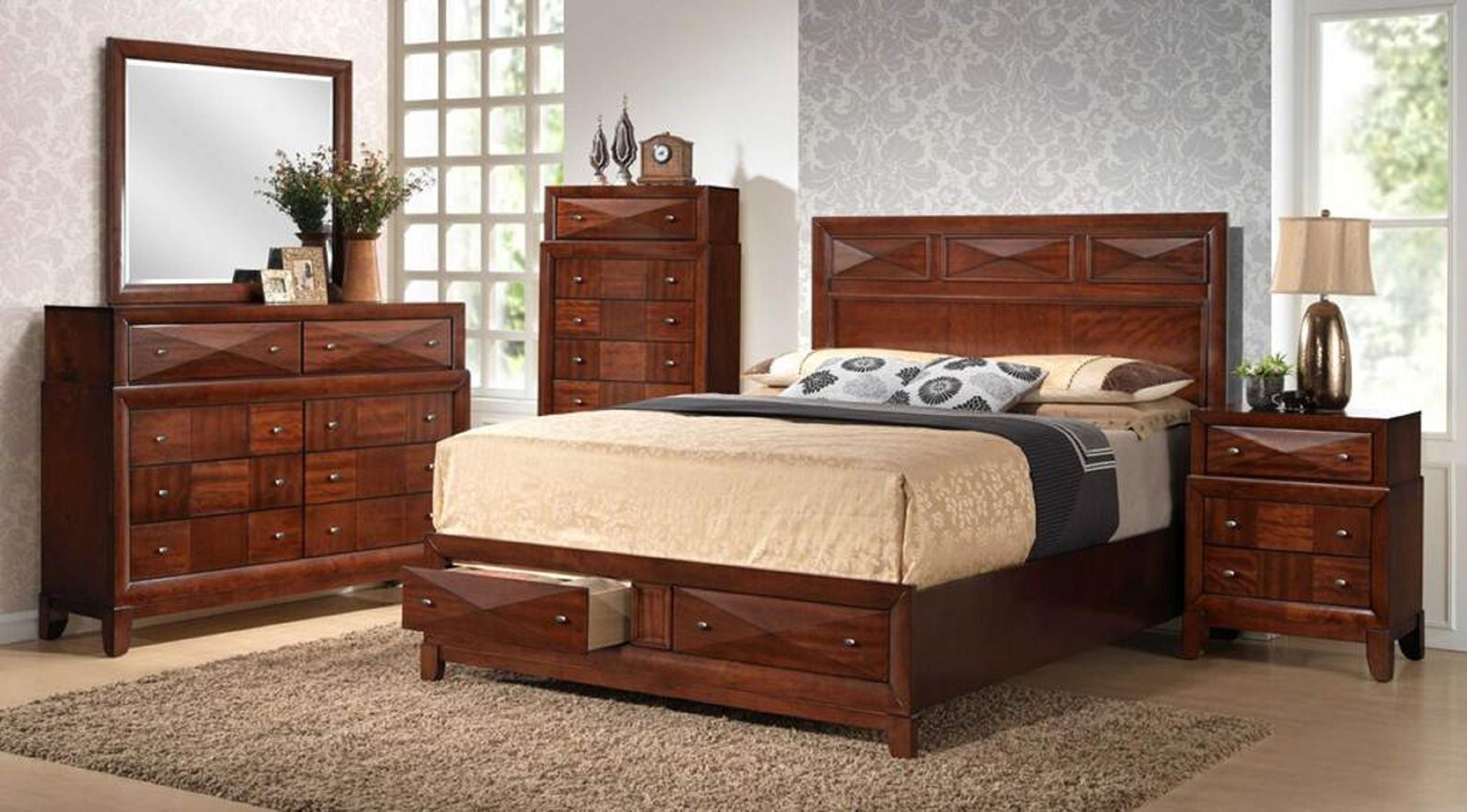 Kingsbury Queen 5 pc Bedroom Set