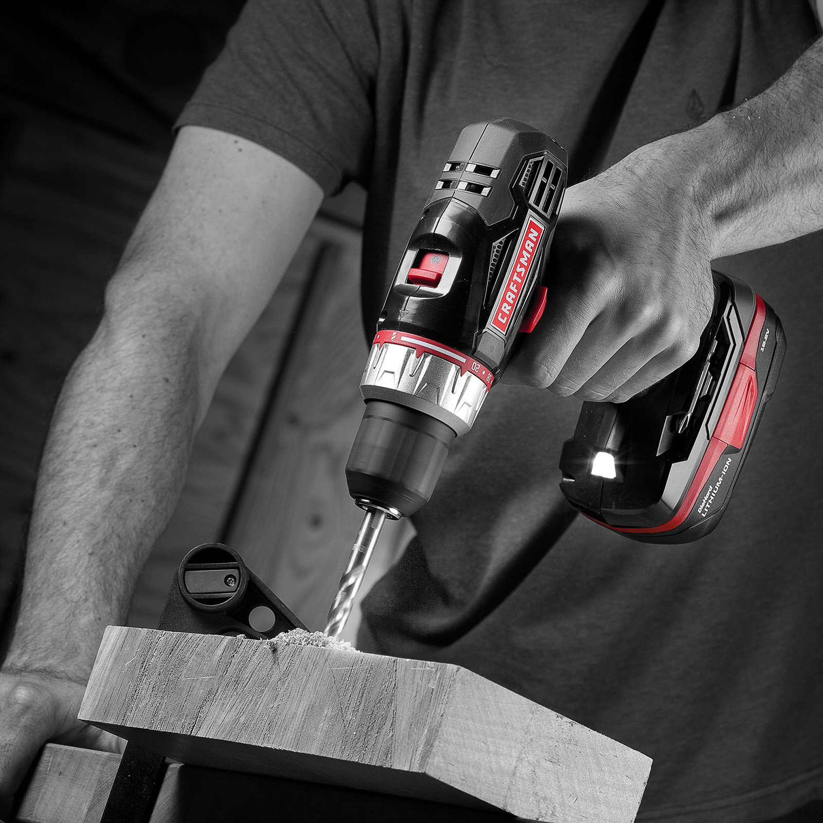 Craftsman 19.2 Volt Drill Driver with 2 Lithium-Ion Batteries
