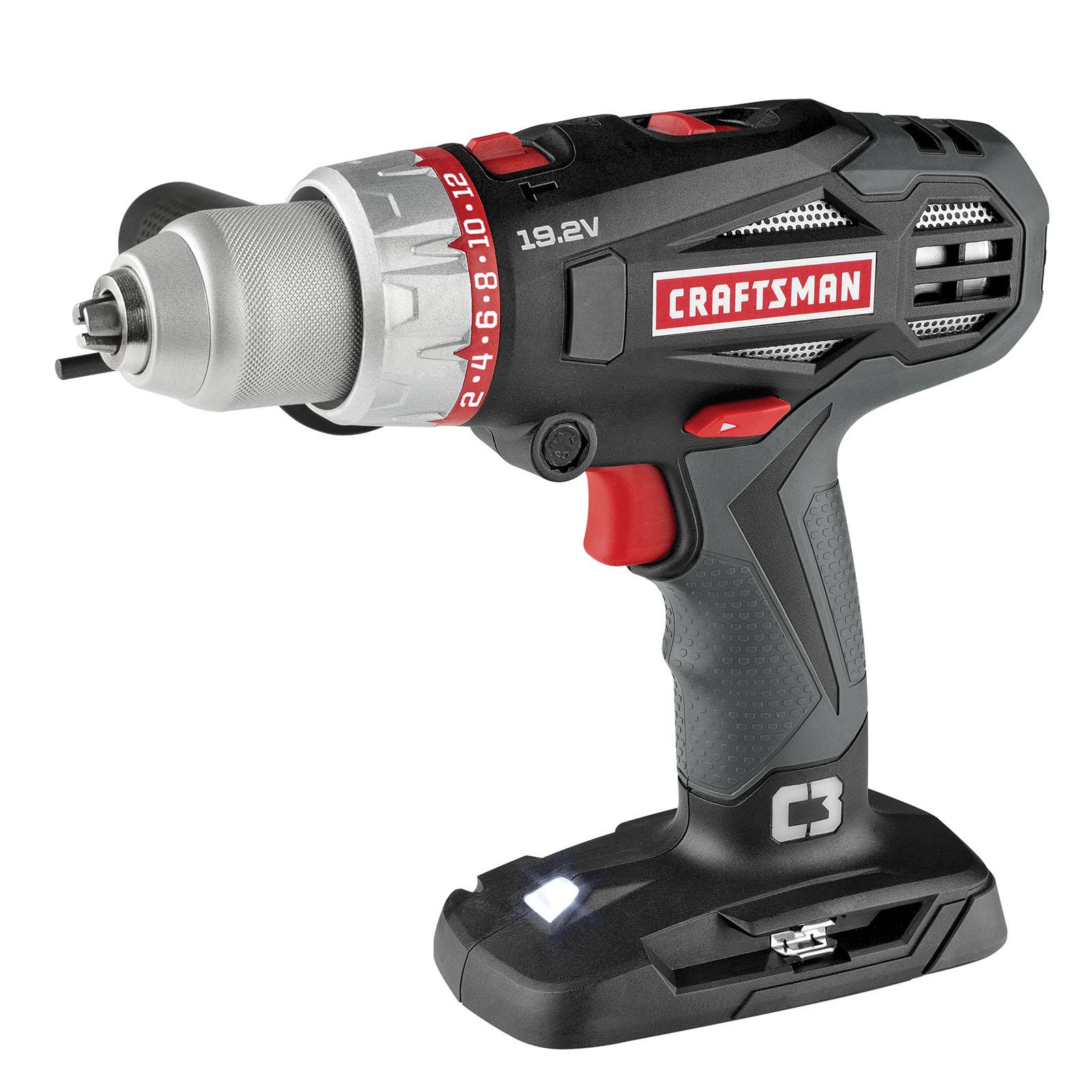 Craftsman C3 19.2-volt 1/2-inch 2-Speed Hammer Drill