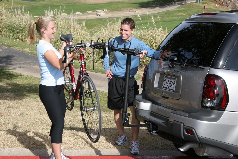 GRABER Car Hitch Rack for 3 Bikes