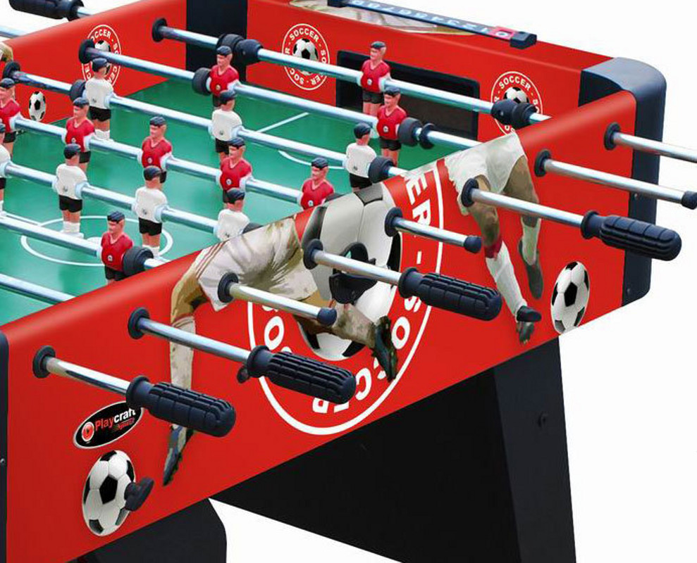 "Playcraft Sport 48"" Foosball Table  Red"
