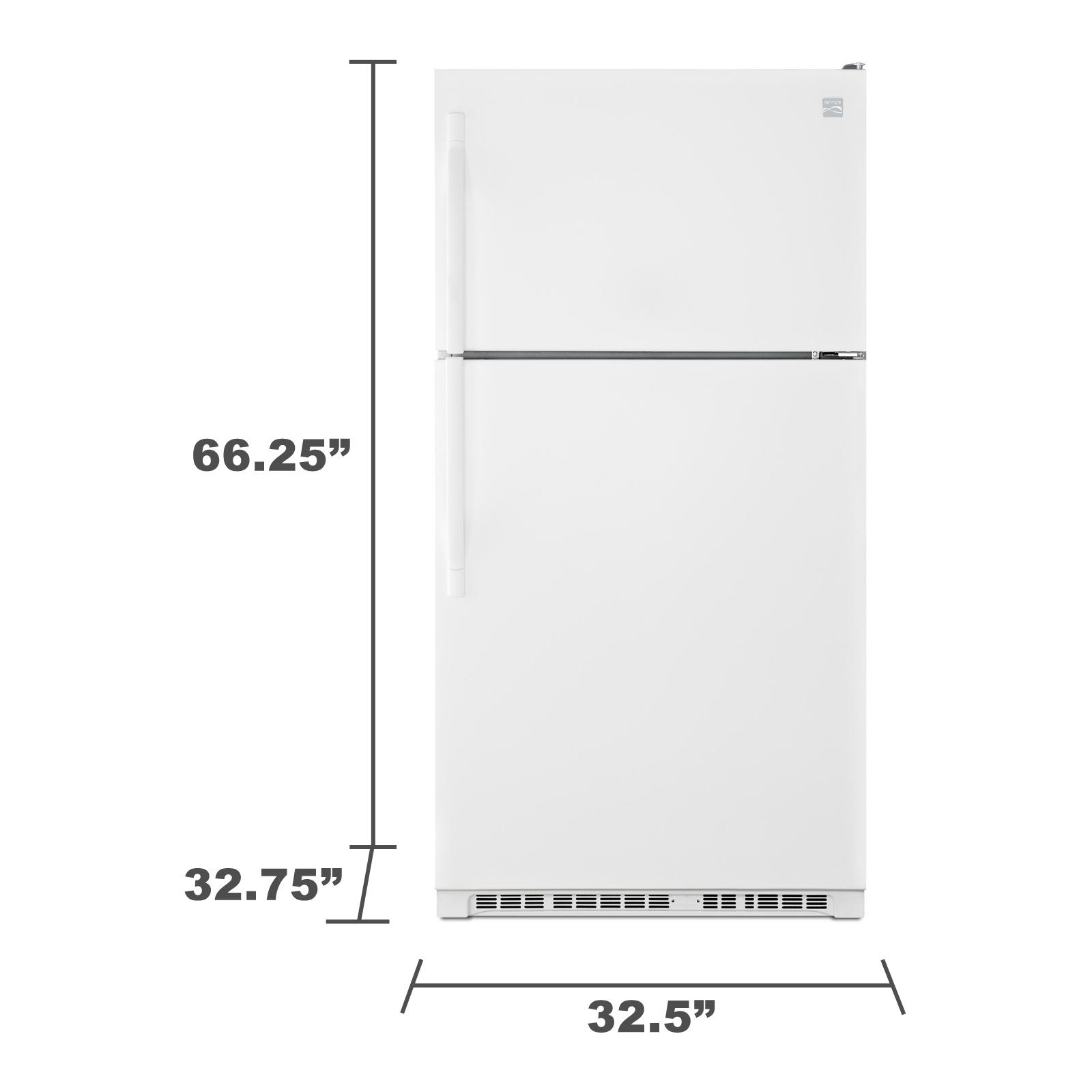 Kenmore 60212 20.5 cu. ft. Top Freezer Refrigerator - White