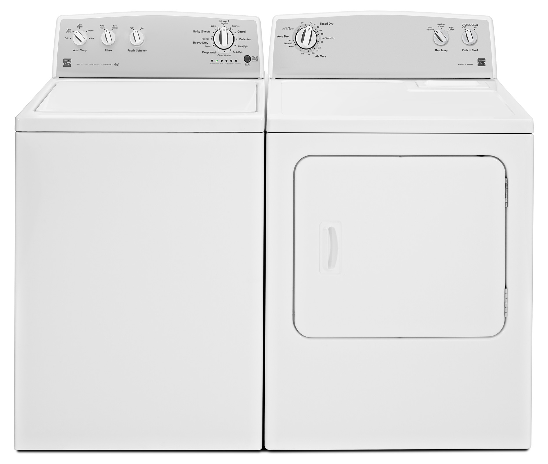 Kenmore 22102 3.5 cu. ft. Top-Load Washer - White