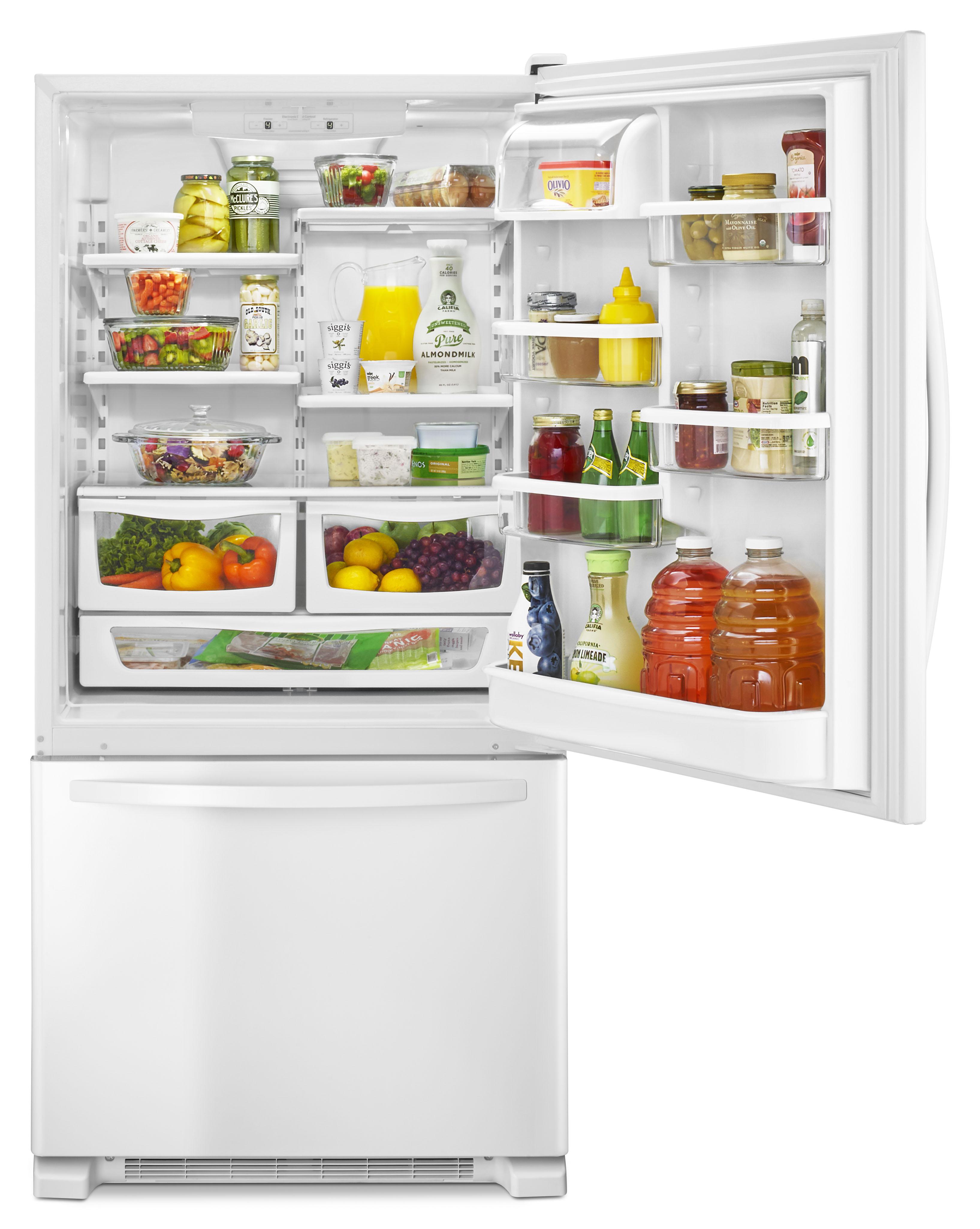 """Kenmore 79342 22 cu. ft. 33"""" Single Door Bottom Freezer - White"""