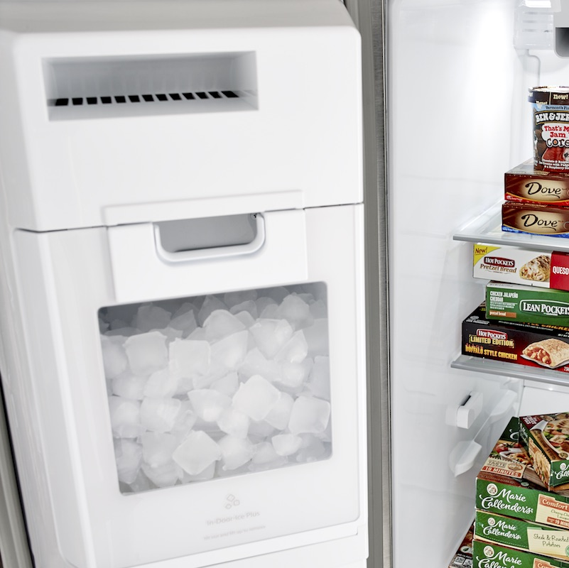 Kenmore 51764 25 Cu Ft Side By Side Refrigerator Bisque