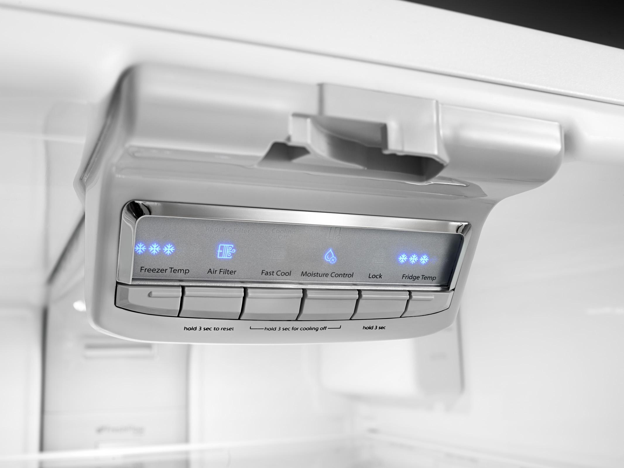 Kenmore 73003 19.5 cu. ft. Bottom Freezer Refrigerator - Stainless Steel