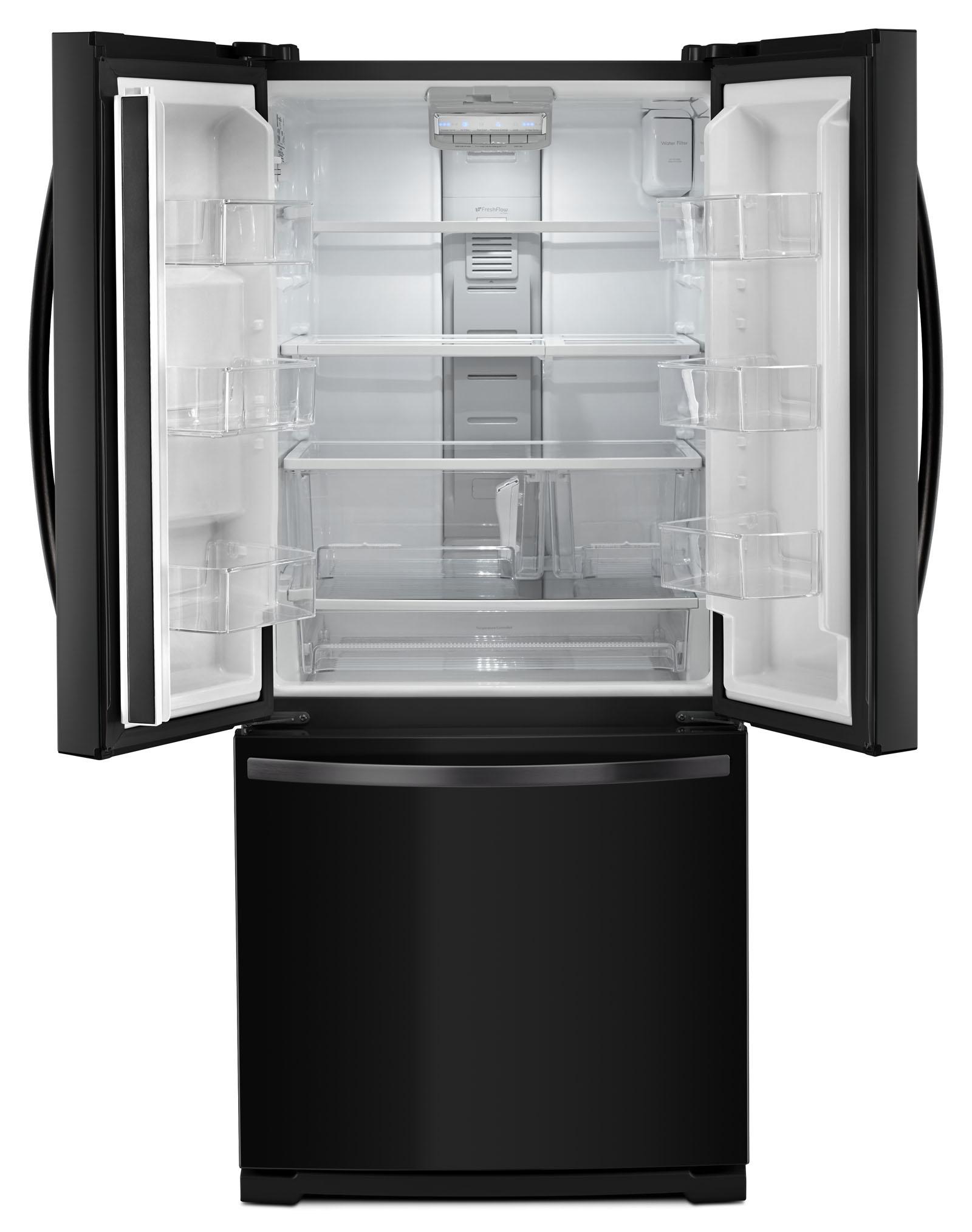 Kenmore 73009 19.5 cu. ft. Bottom Freezer Refrigerator - Black