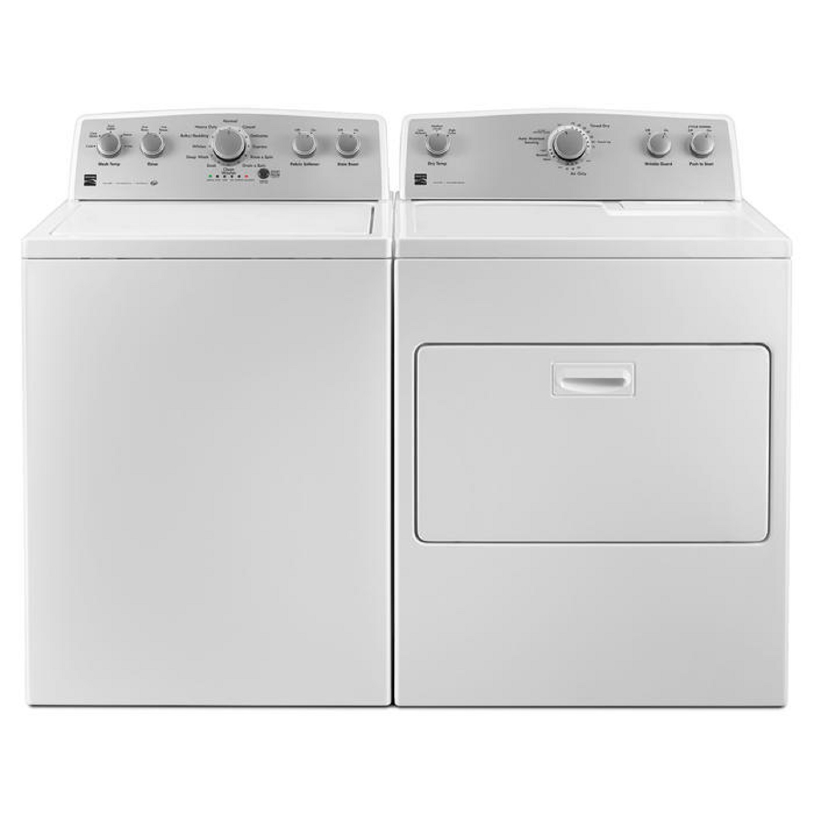 Kenmore 4.3 cu. ft. Top Load Washer &   7.0 cu. ft. Electric Dryer - White