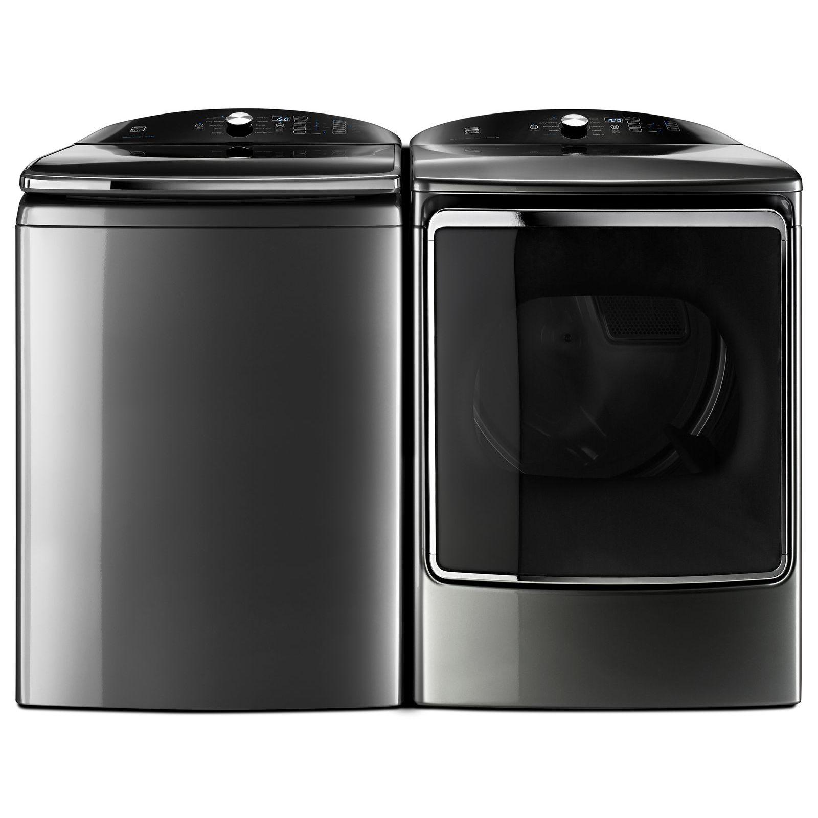 Kenmore Elite 61633 9.2 cu. ft. Electric Dryer w/ SmartDry Ultra Technology – Metallic