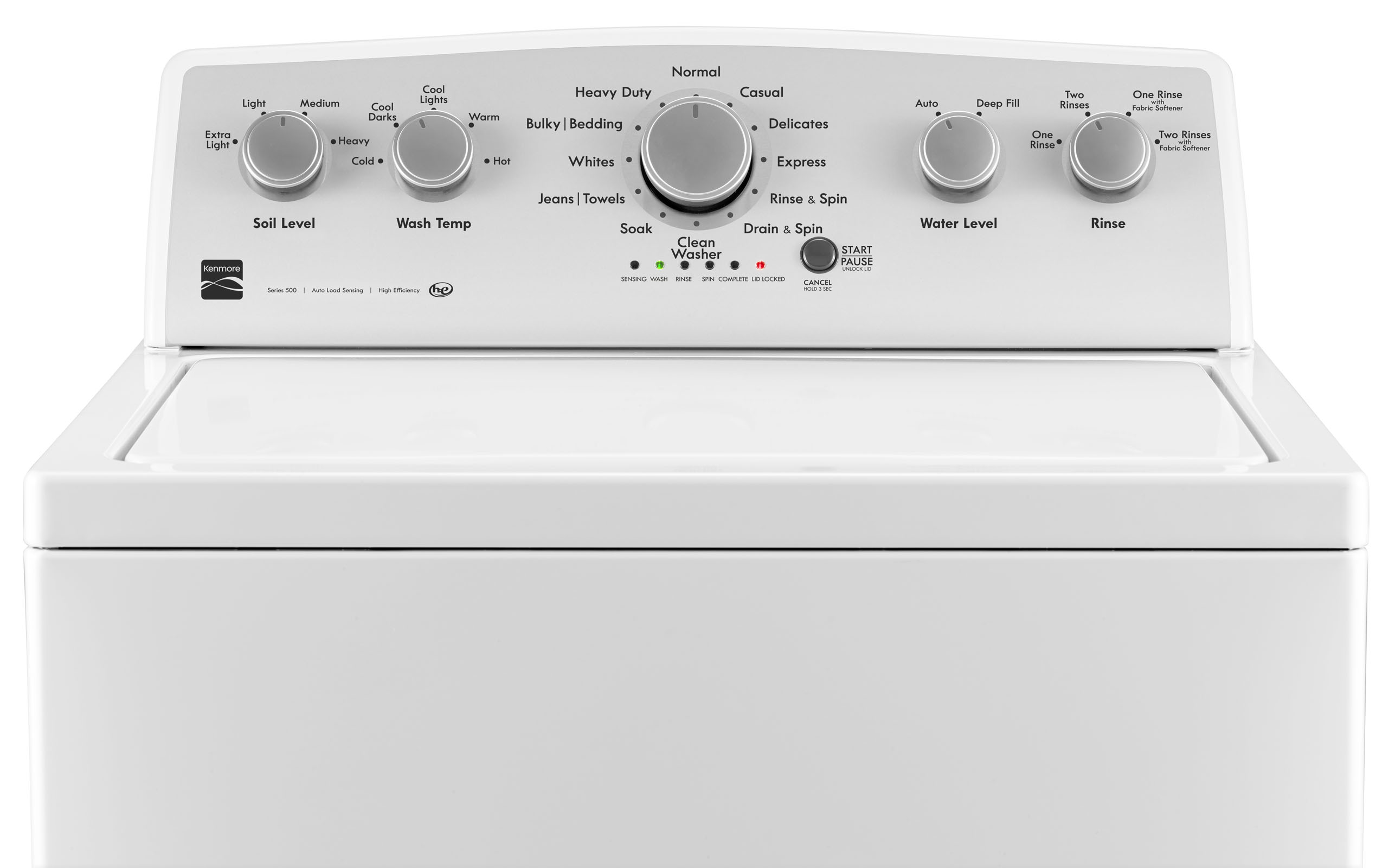 Kenmore 22352 4.2 cu. ft. Top-Load Washer w/ Deep Fill – White