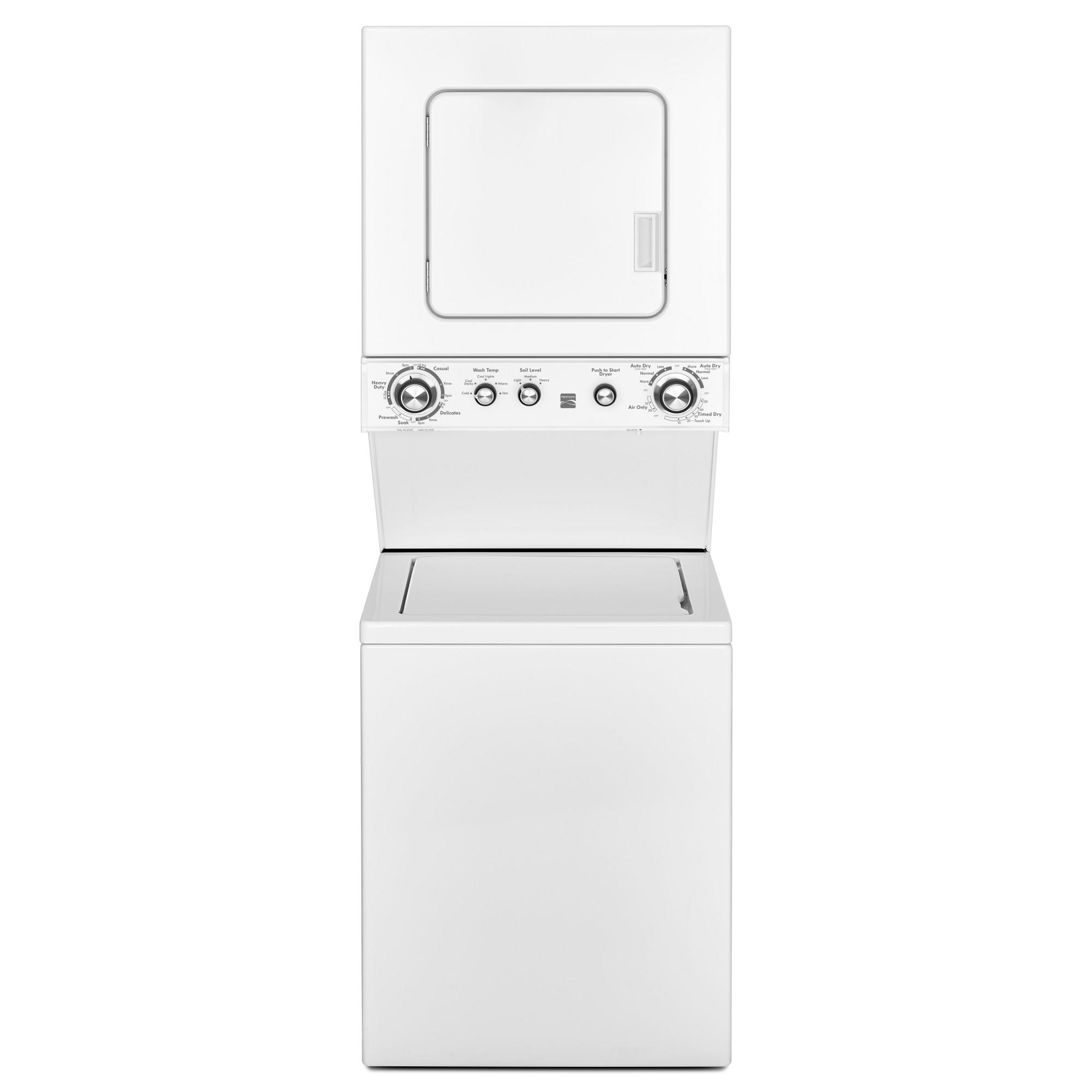 Kenmore 81432 24 3.8 cu. ft. Electric Laundry Center - White