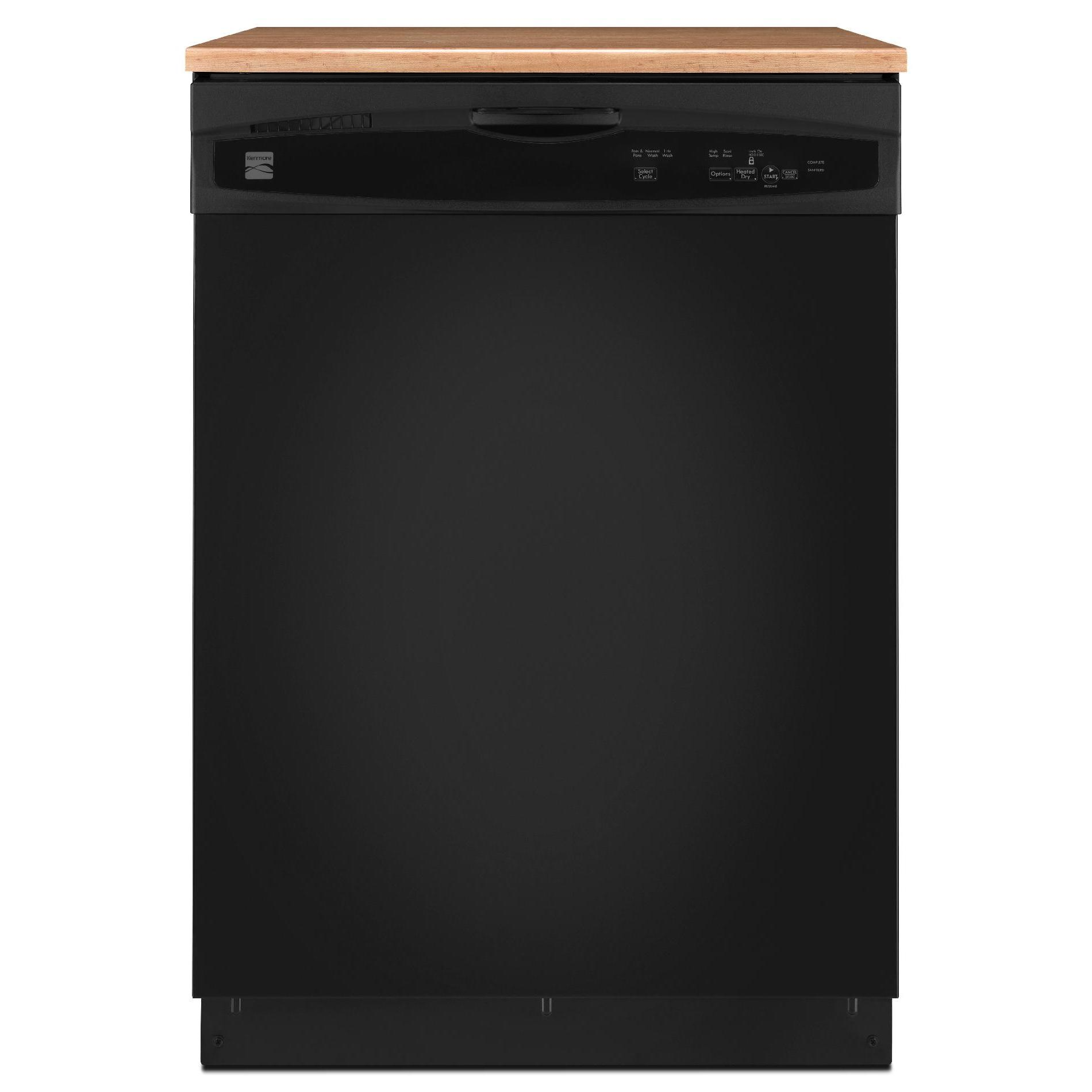 Kenmore 24 Portable Dishwasher - Black