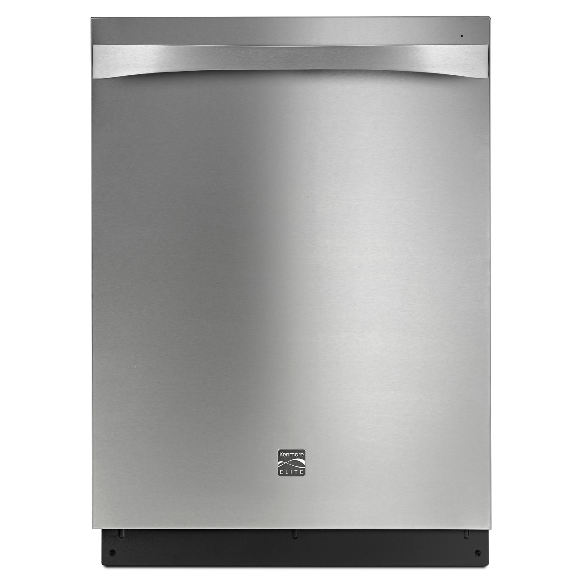 Kenmore Elite 14793 24 Built-In Dishwasher - Stainless Steel