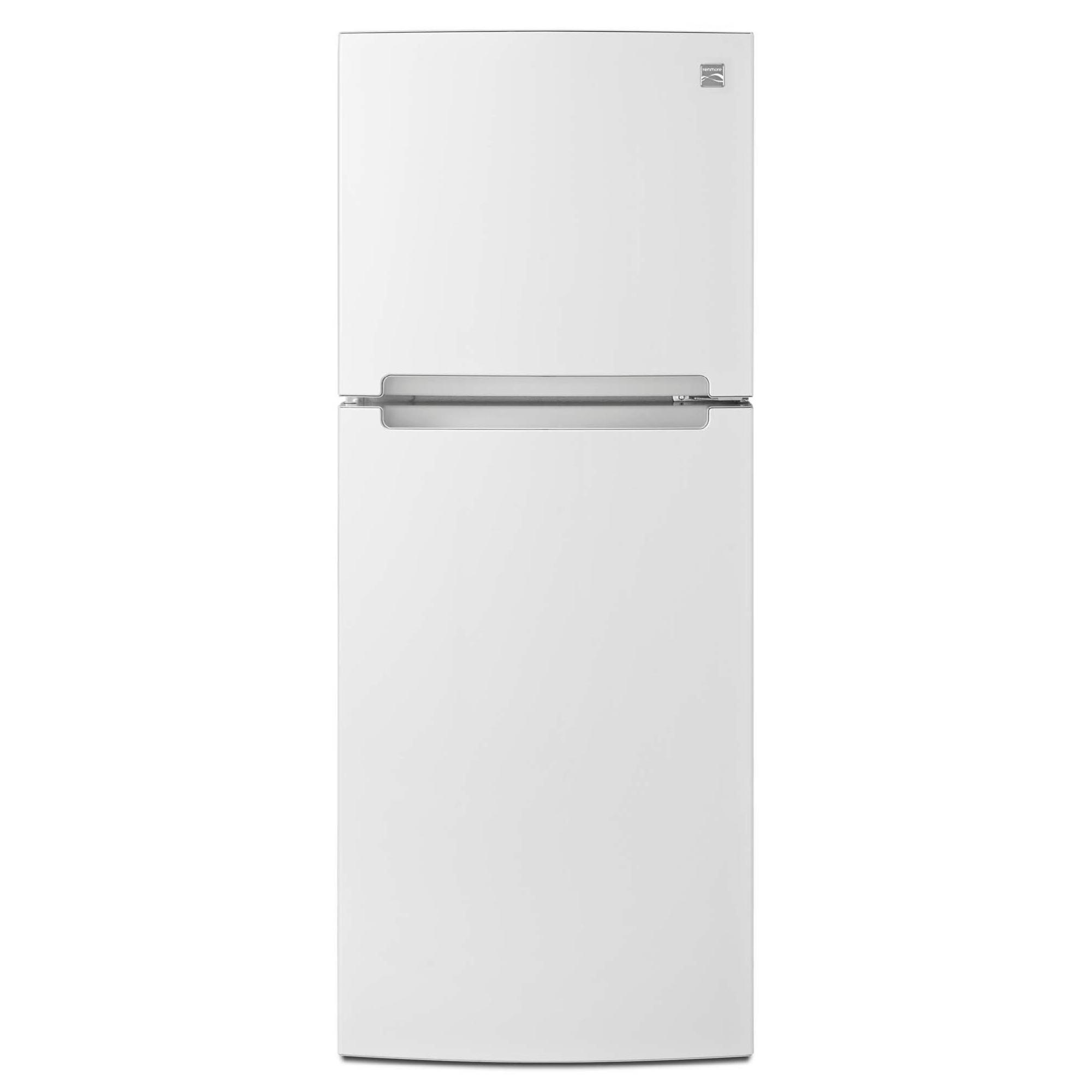 Kenmore 76392 10.7 cu. ft. Top-Freezer Refrigerator w/ Humidity-Controlled Crisper - White