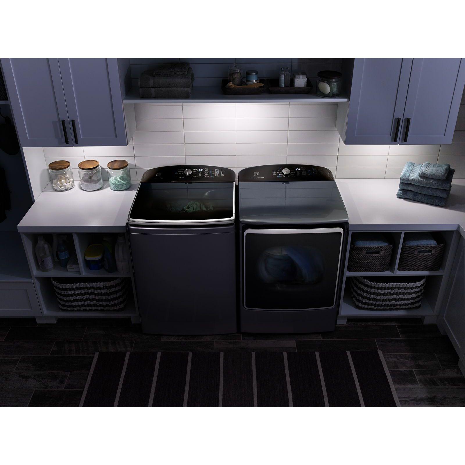 Kenmore Elite 71633 9.2 cu. ft. Gas Dryer w/ SmartDry Ultra Technology – Metallic