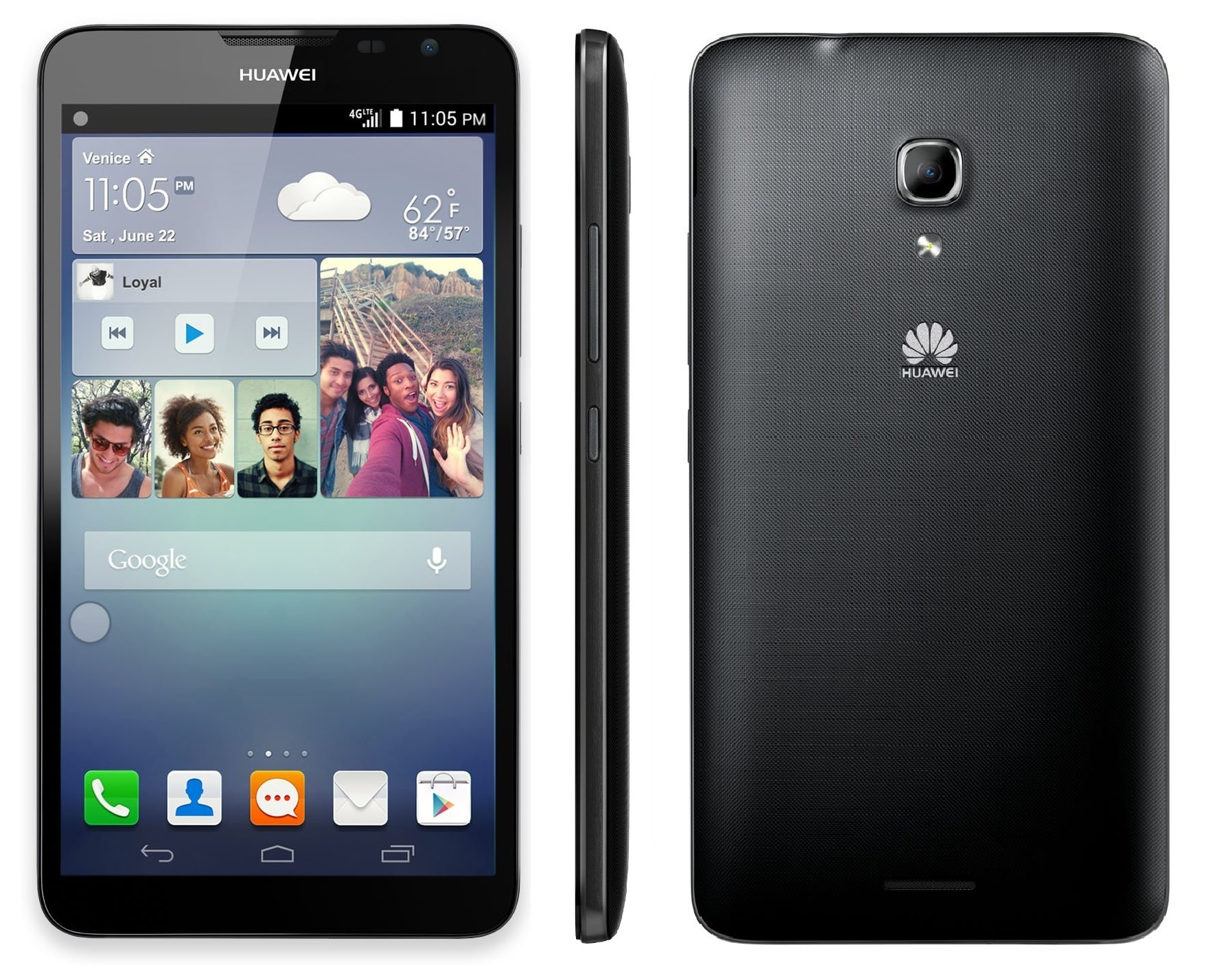 Huawei HUAWEI Ascend Mate 2 MT2-L03 16GB Unlocked GSM 4G LTE Android Phone - Black