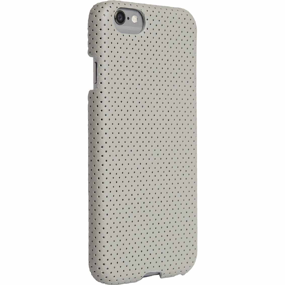 Agent 18 SlimShield Case for iPhone 6 - Perforated Wrap Gray/Black