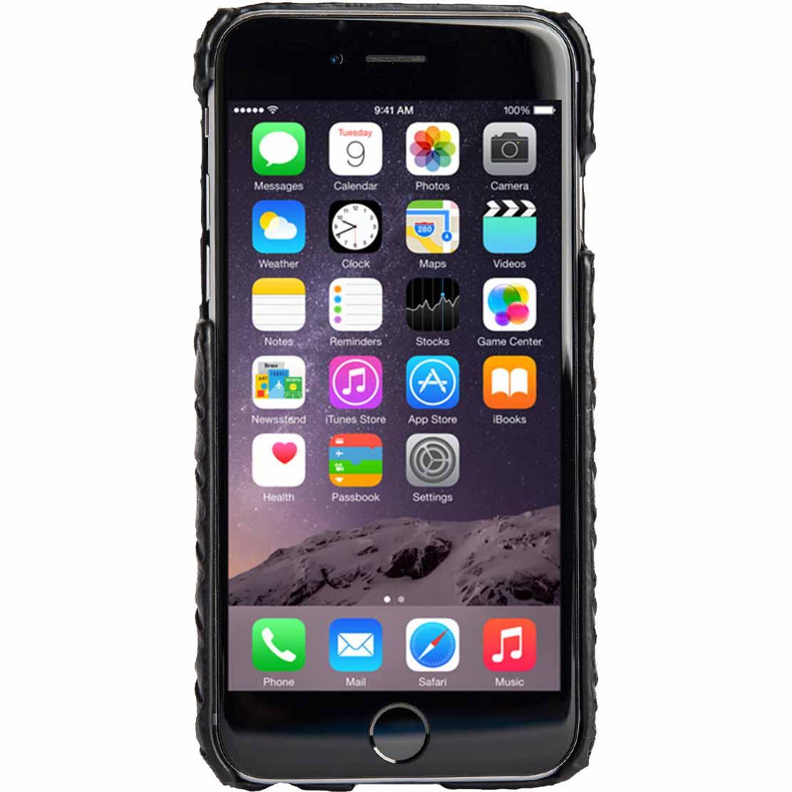 Agent 18 SlimShield Case for iPhone 6 - Black Weave