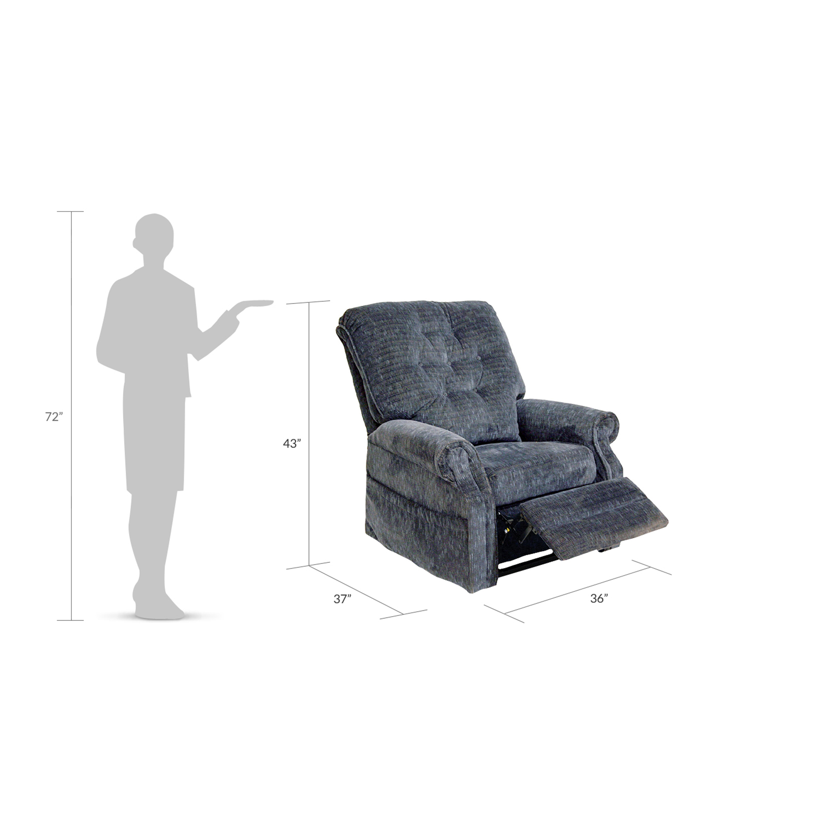 Catnapper Blue Patriot Recliner