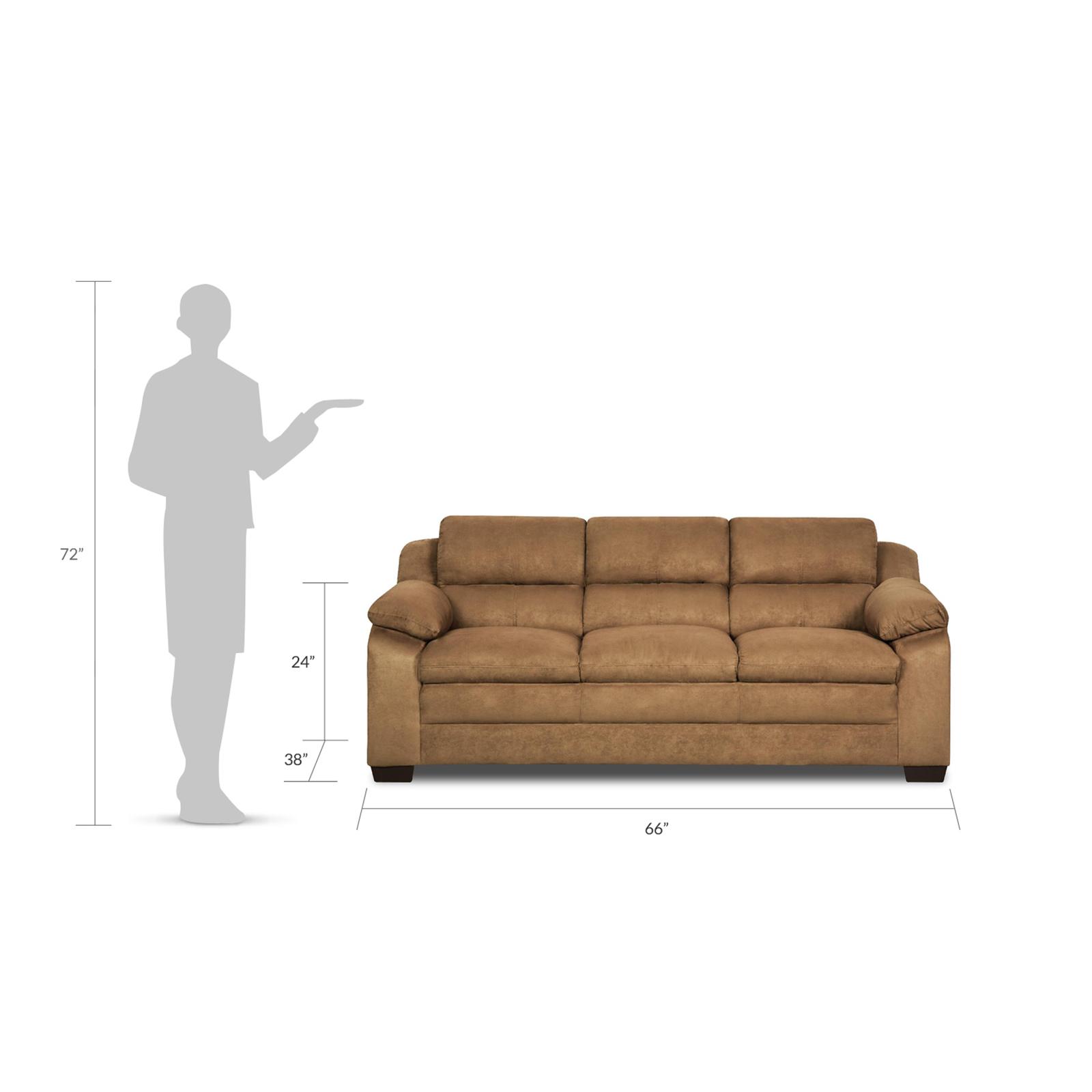 Simmons Upholstery Bixby Pillow-Top Sofa - Latte
