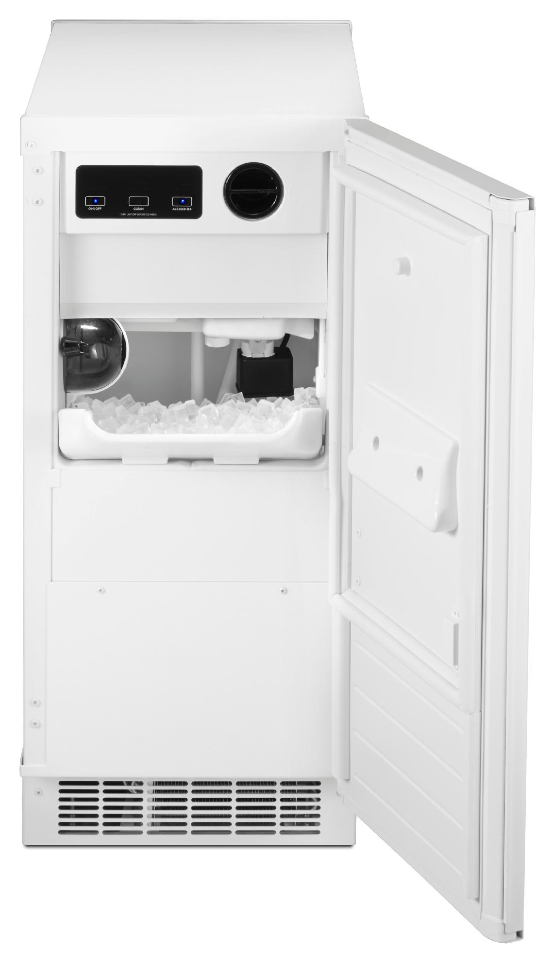 "Kenmore 89592 15"" Ice Maker w/ Drain Pump - White"