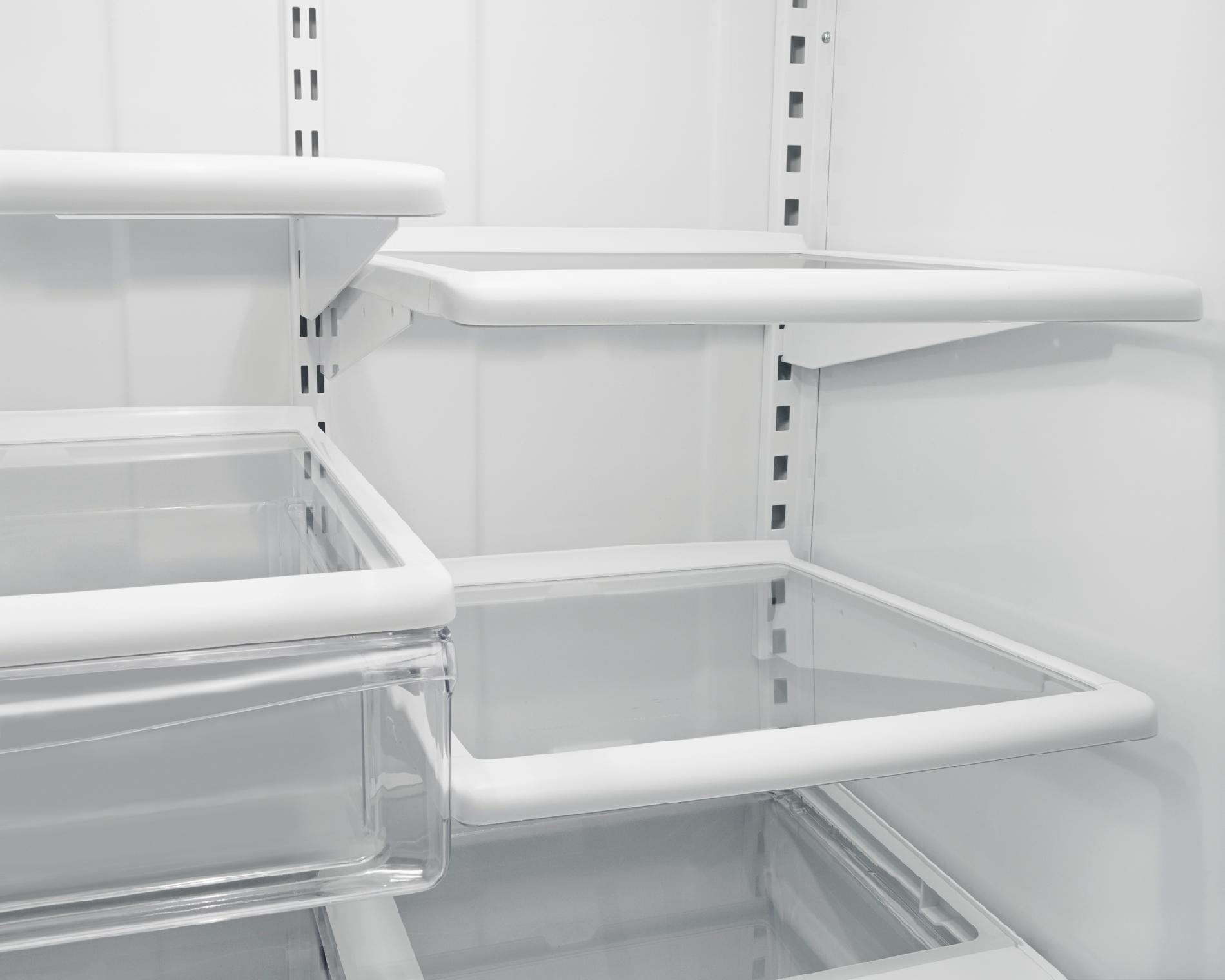 Whirlpool WRB322DMBB 22.1 cu. ft. Bottom-Freezer Refrigerator w/ Ice Maker - Black