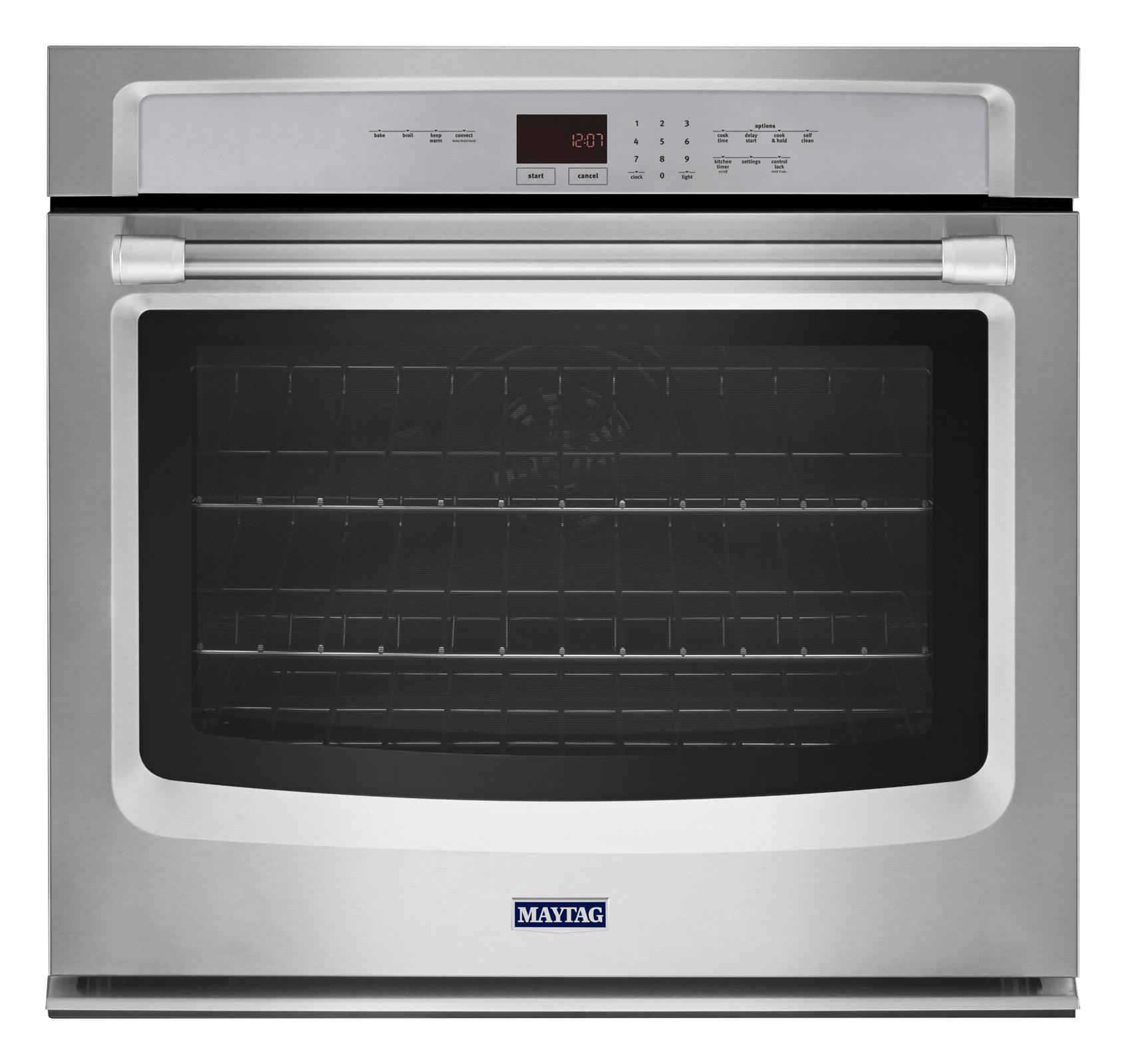 Maytag MEW9527DS 27 Electric Wall Oven w/ EvenAir™ True Convection - Stainless Steel