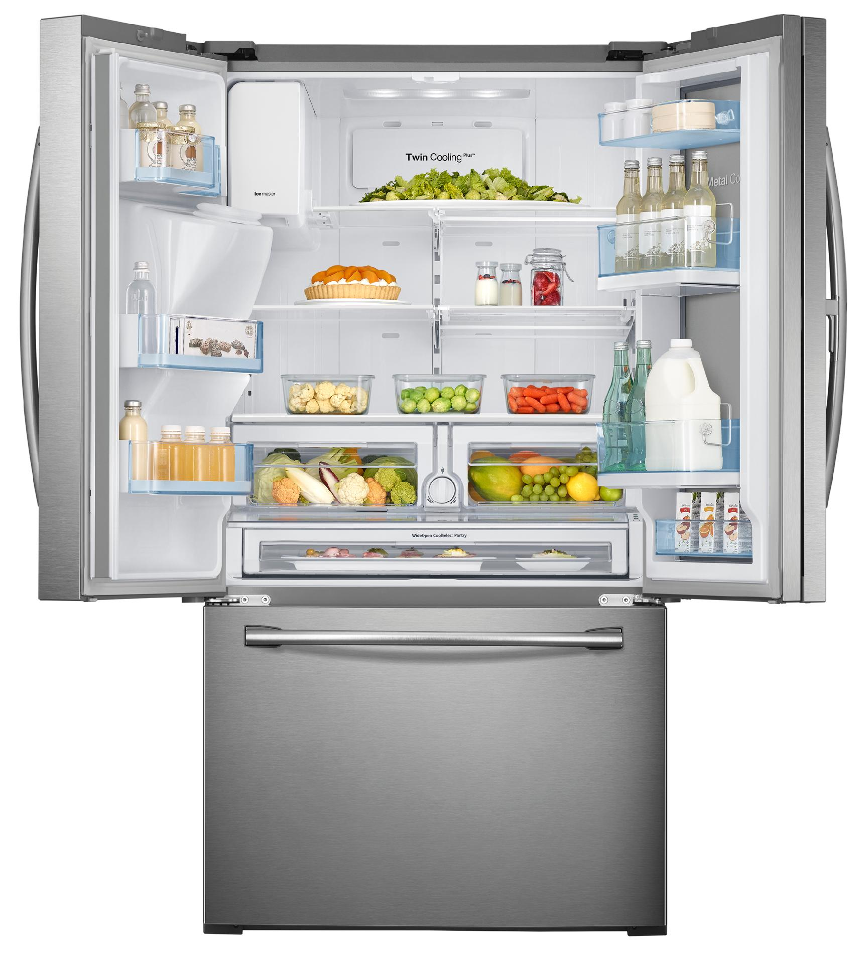 Samsung RF28HDEDBSR 28 cu. ft. Food ShowCase French Door Refrigerator - Stainless Steel