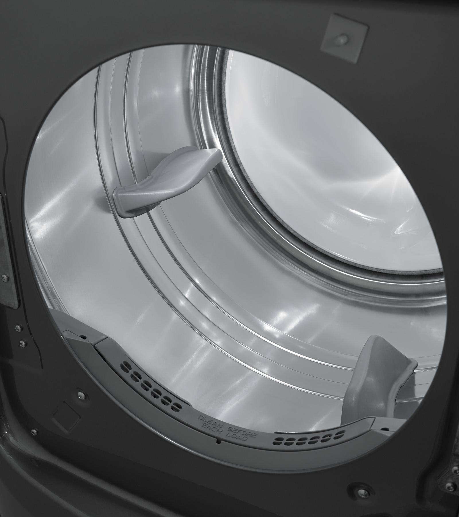 Maytag 7.4 cu. ft. Maxima® Gas Dryer w/ Stainless Steel Drum - Metallic Slate
