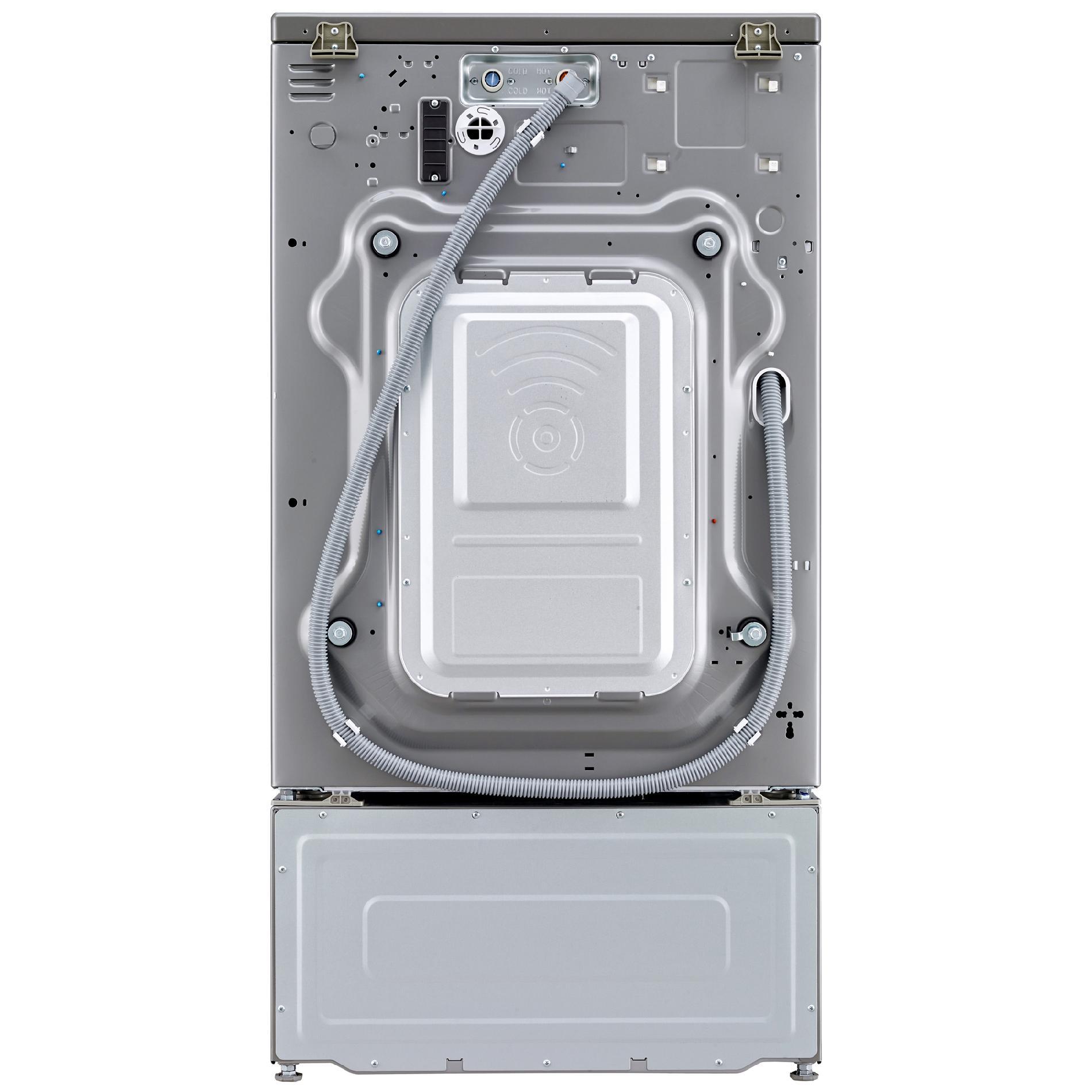 LG WM3570HVA 4.3 cu. ft. Ultra Large Capacity Washer TurboWash Silver