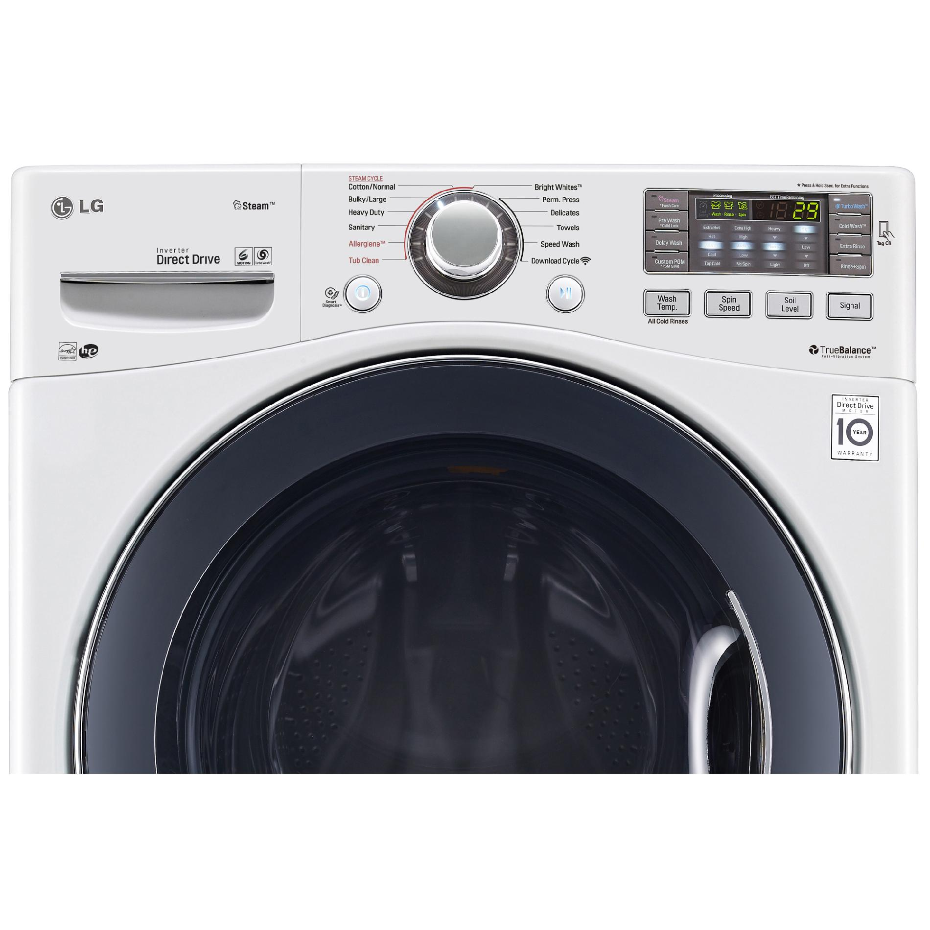 LG WM3570HWA 4.3 cu. ft. Front-Load Washer w/Steam