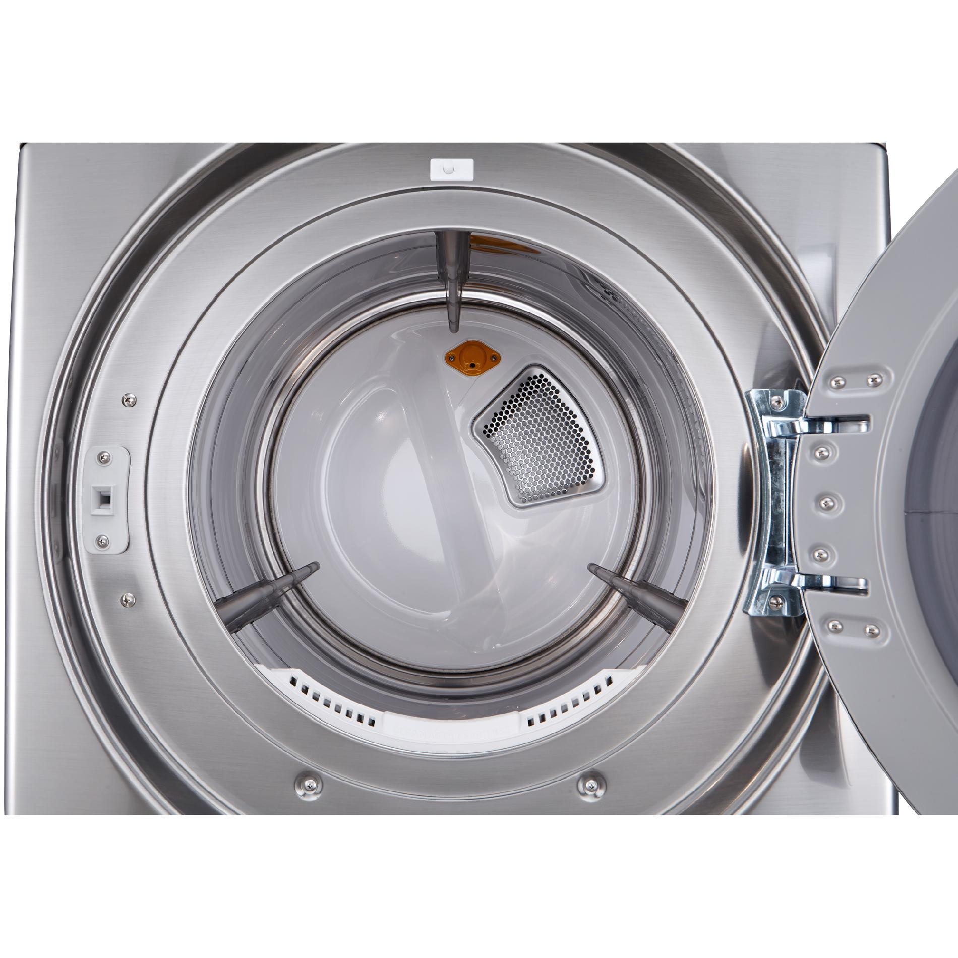 LG DLGX3571V 7.4 cu.ft. Ultra Large Capacity Gas SteamDryer™