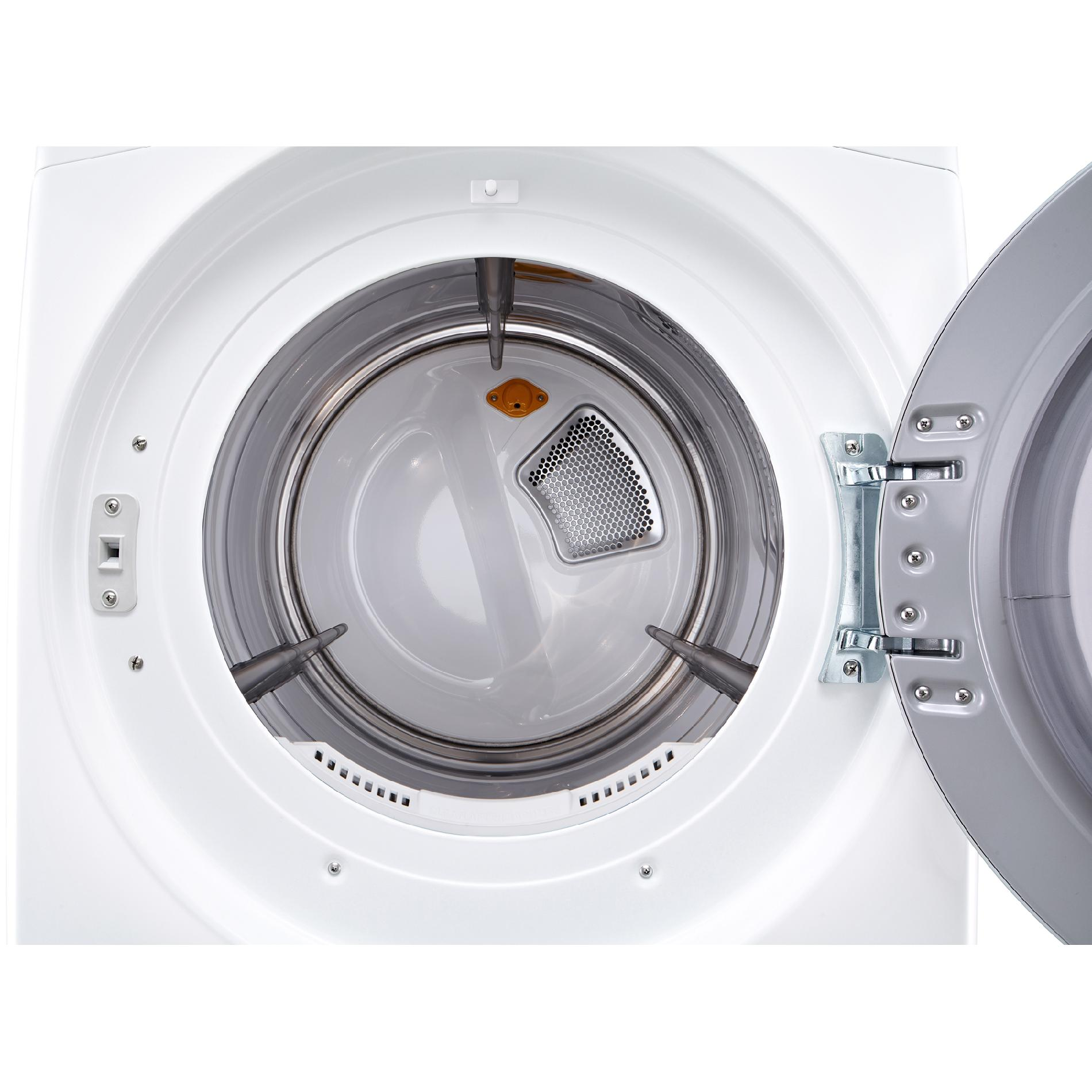 LG DLGX3571W 7.4 cu.ft. Ultra Large Capacity Gas SteamDryer™ - White