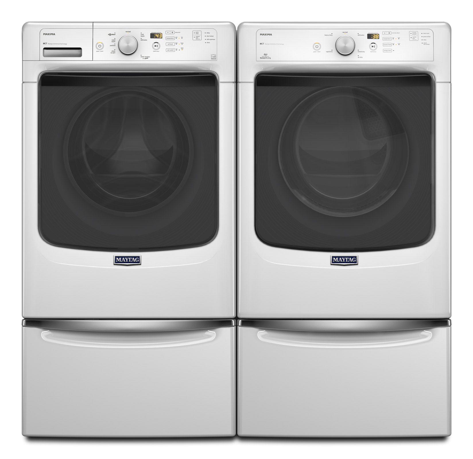Maytag MHW3100DW 4.2 cu. ft. Maxima® Front-Load Washer w/ PowerWash® Cycle - White