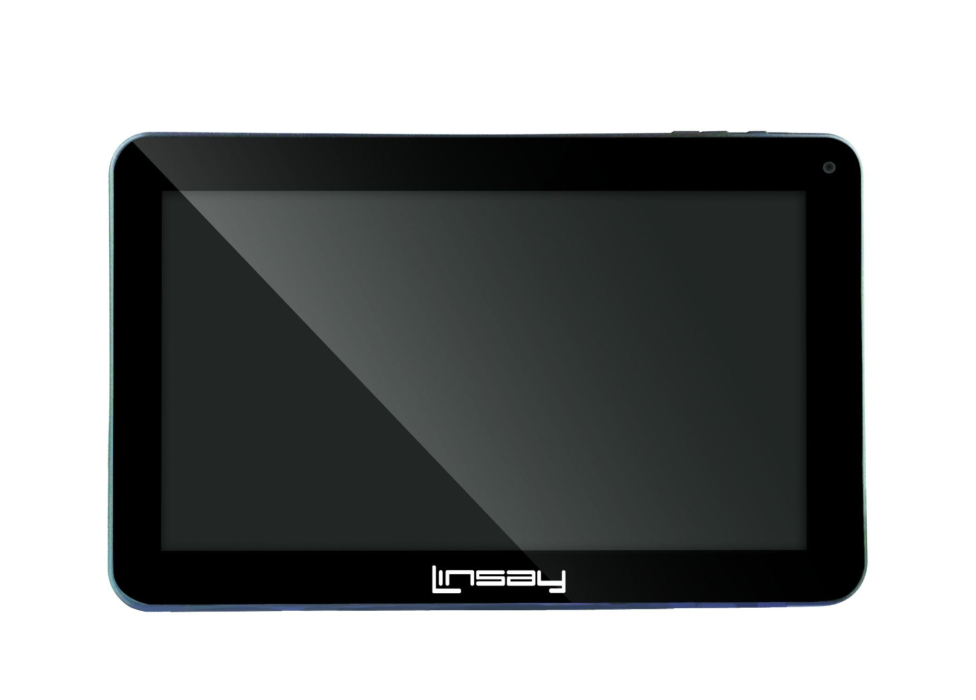 "LINSAY 10.1"" NEW Capacitive Tablet 1024 x 600 HD w/ Google Android Jelly Bean 4.1"