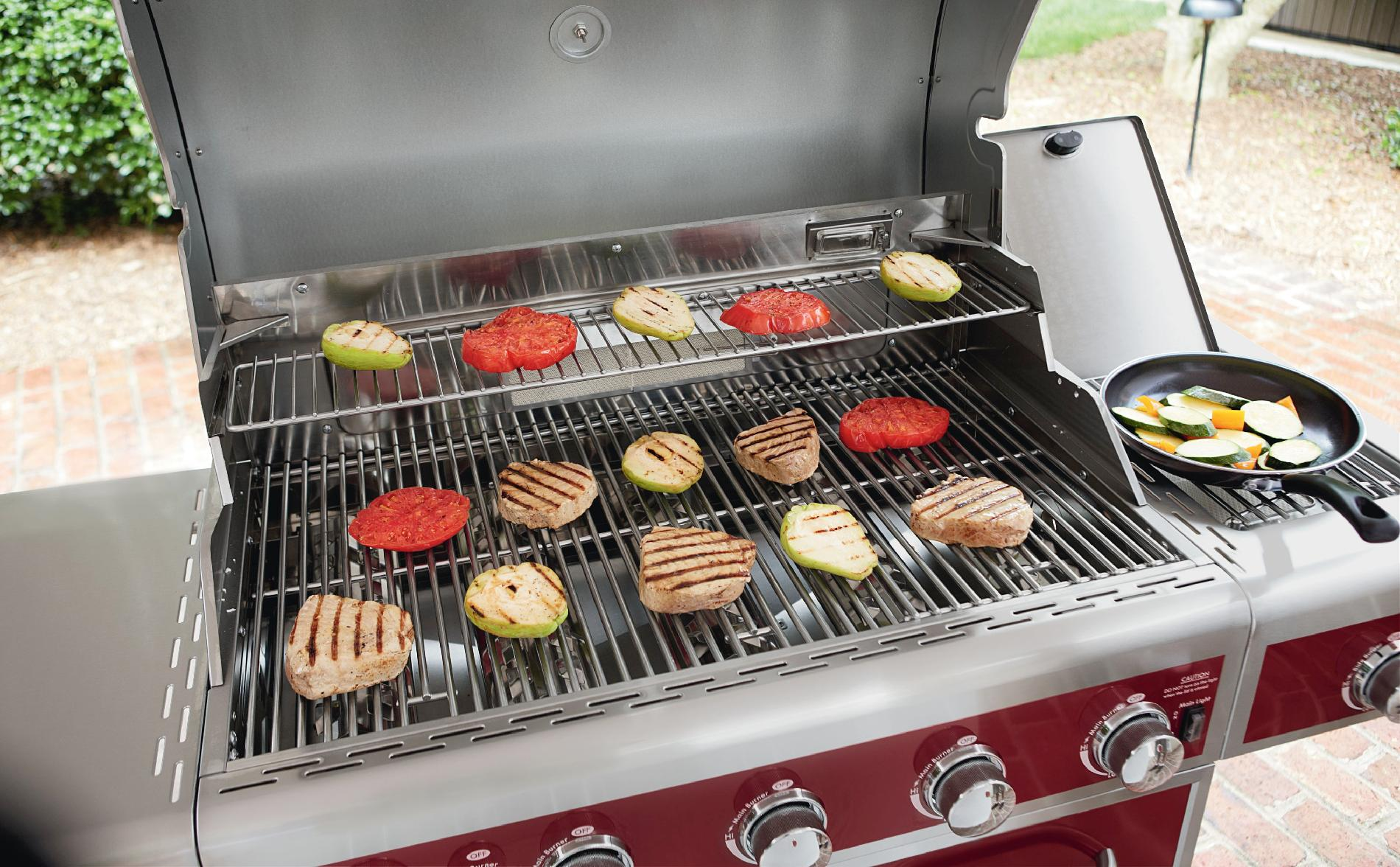 Kenmore 5-Burner Gas Grill with Ceramic Searing and Rotisserie Burners *Limited Availability