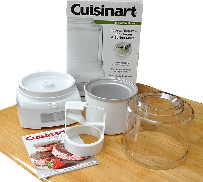 mistral ice cream maker how to use