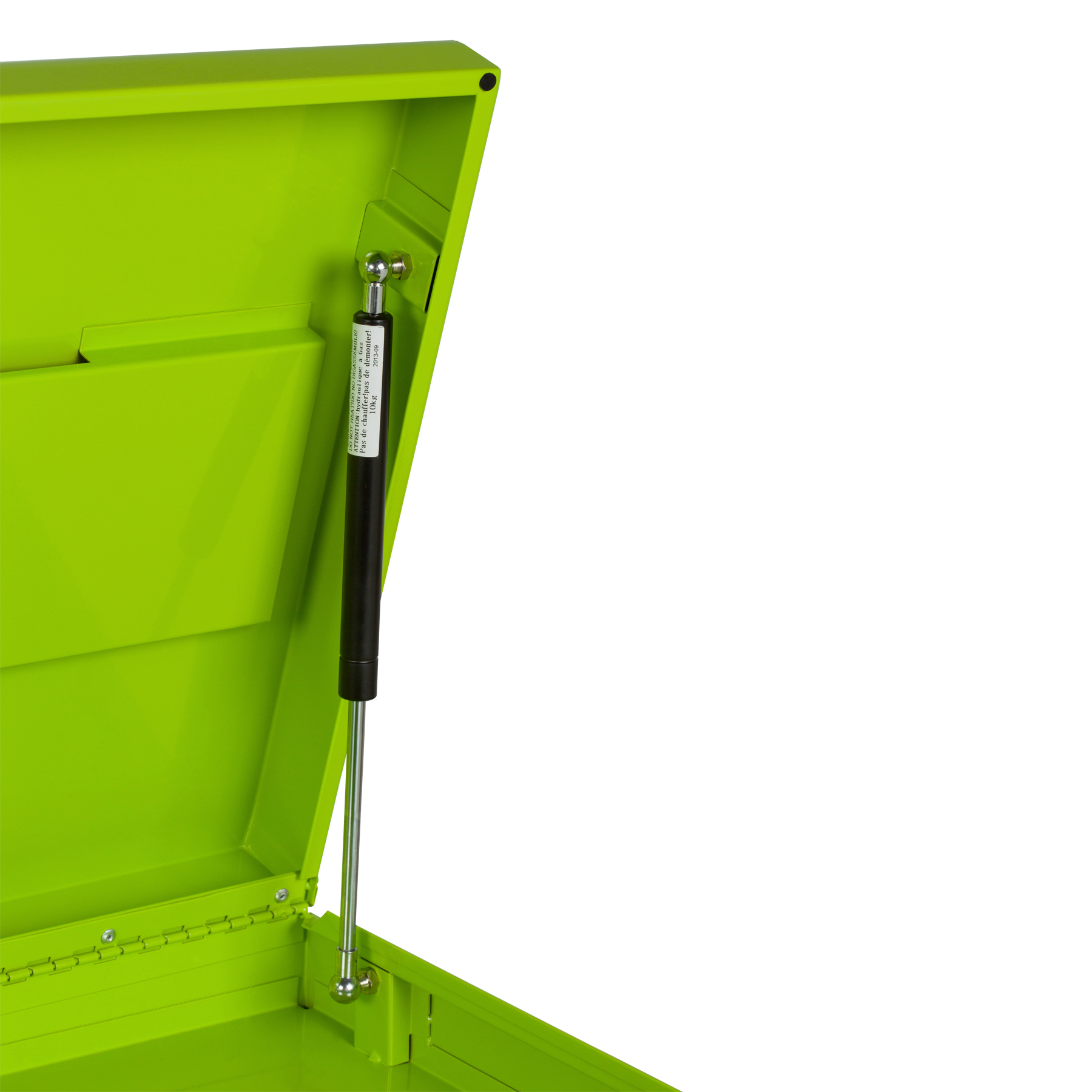 "Viper Tool Storage 26"" 3 Drawer 18G Steel Top Chest, Lime"