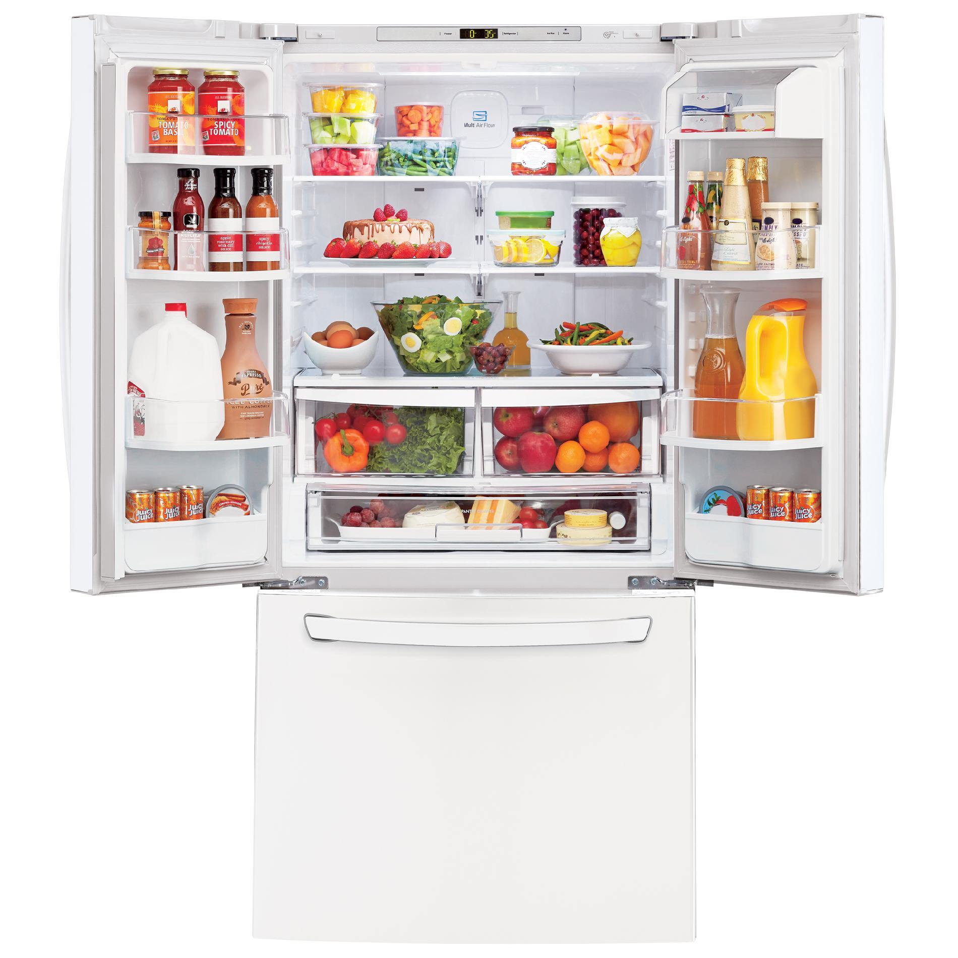 "LG LFC24770SW Super Capacity 23.6 cu.ft. French Door Refrigerator w/Smart Cooling (33"" Width)"